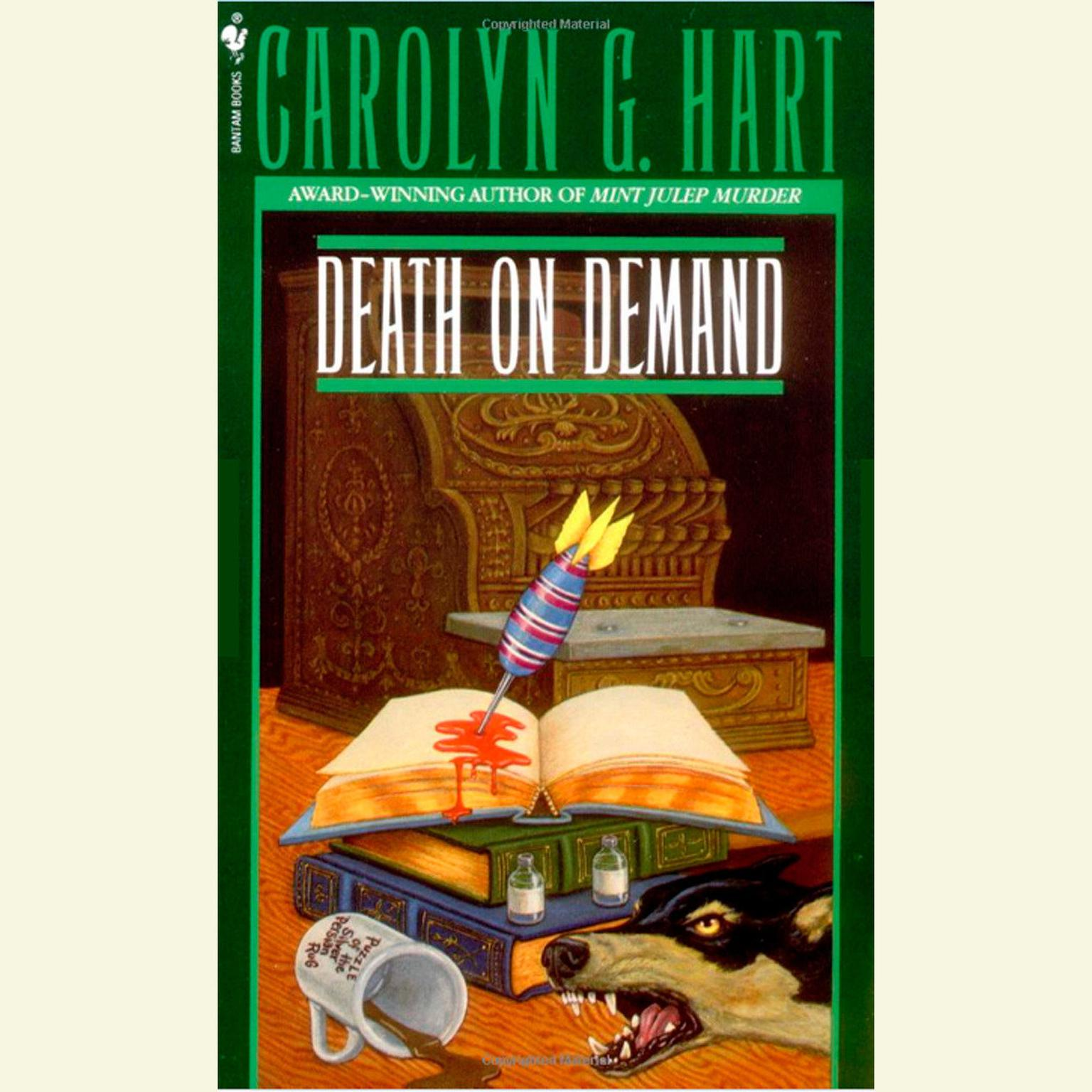 Printable Death on Demand Audiobook Cover Art