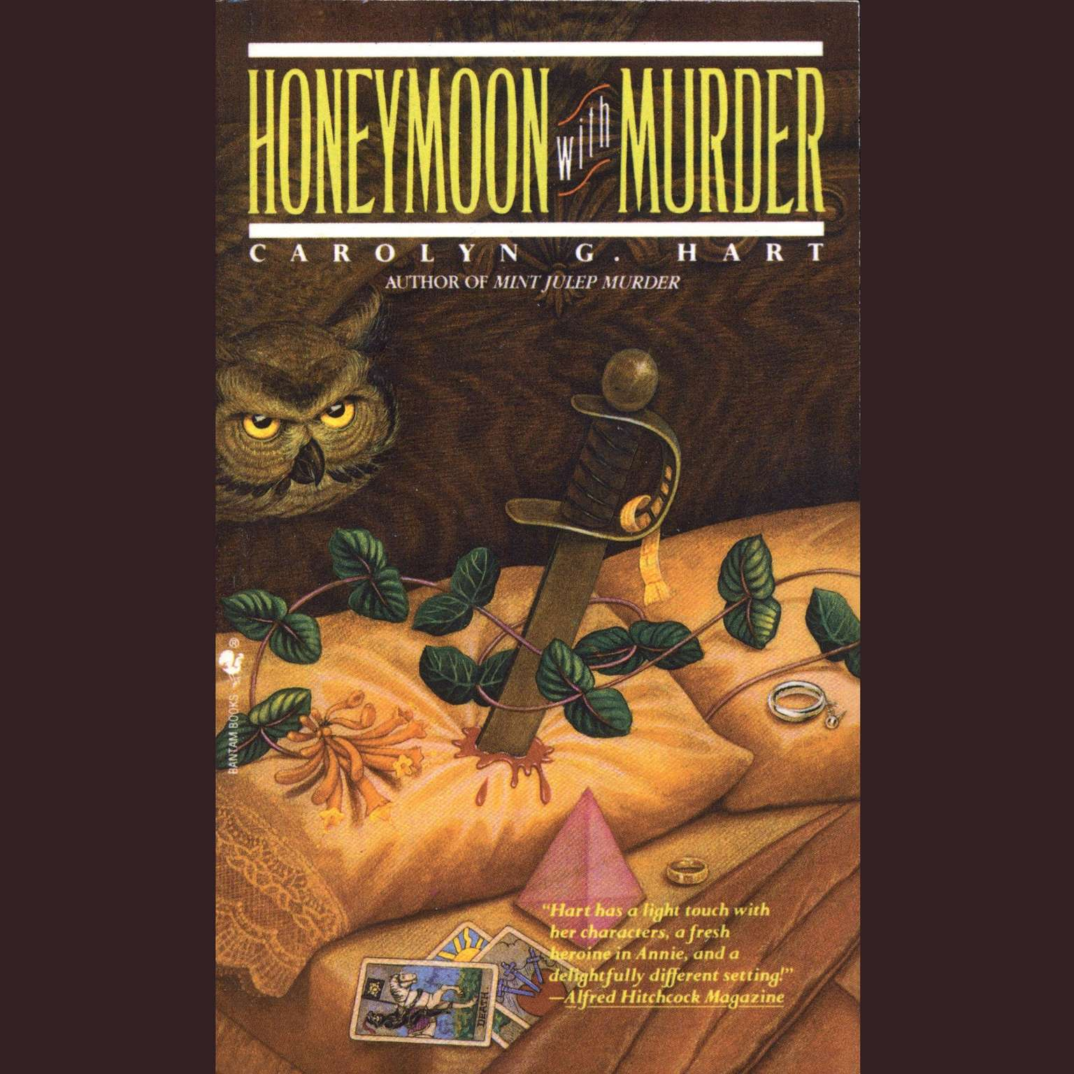 Printable Honeymoon with Murder Audiobook Cover Art