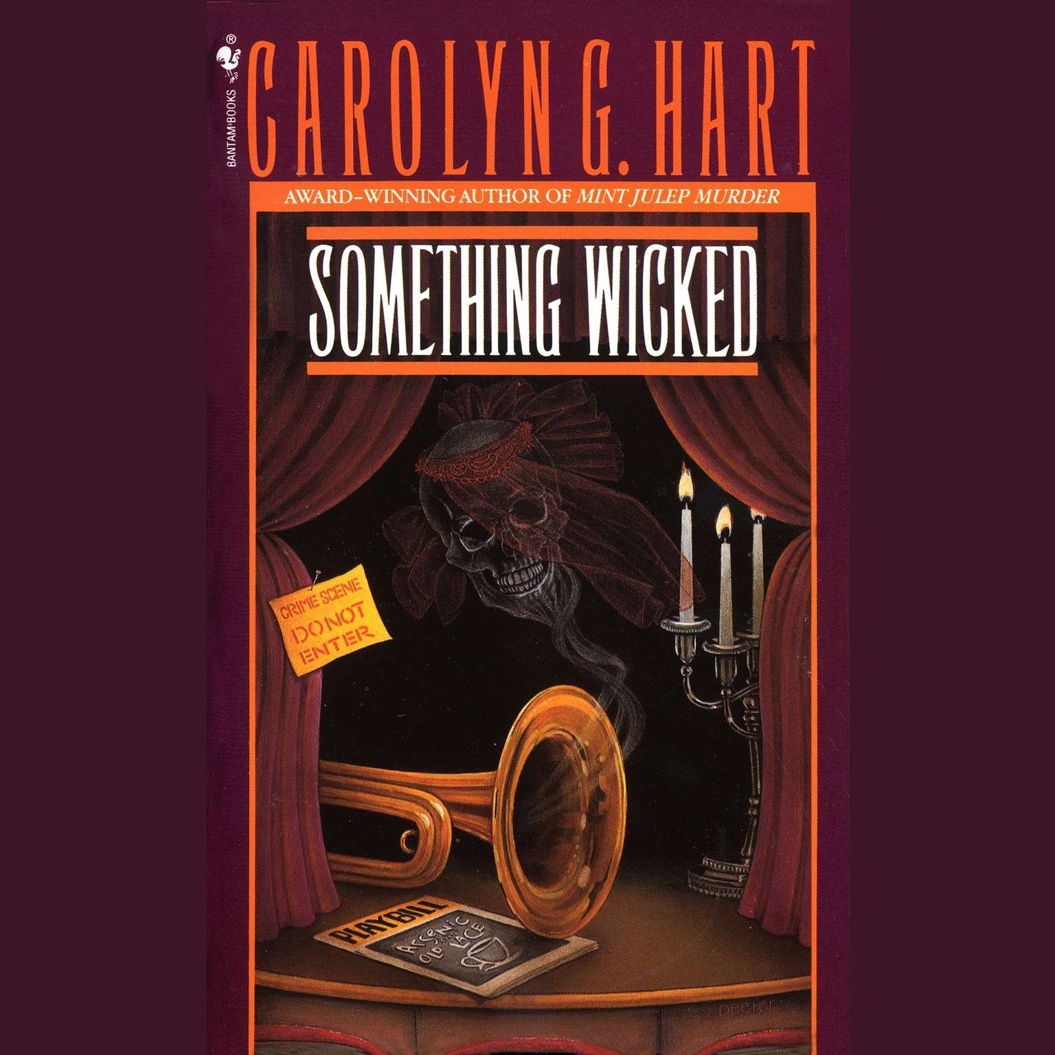 Printable Something Wicked Audiobook Cover Art