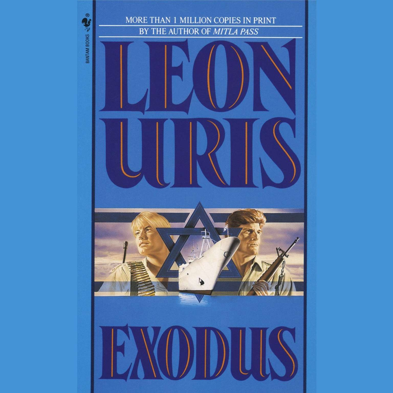 Printable Exodus Audiobook Cover Art