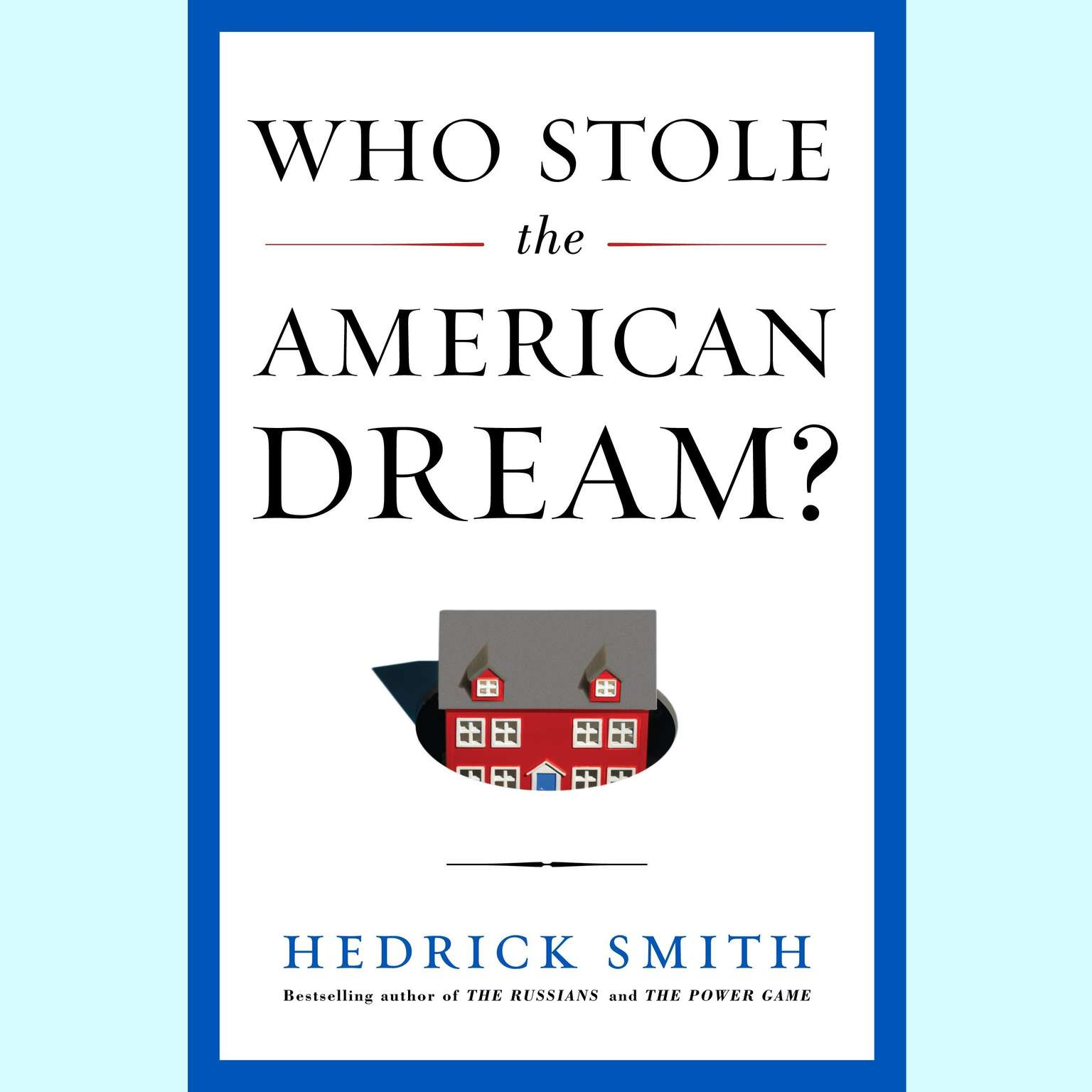 Printable Who Stole the American Dream? Audiobook Cover Art