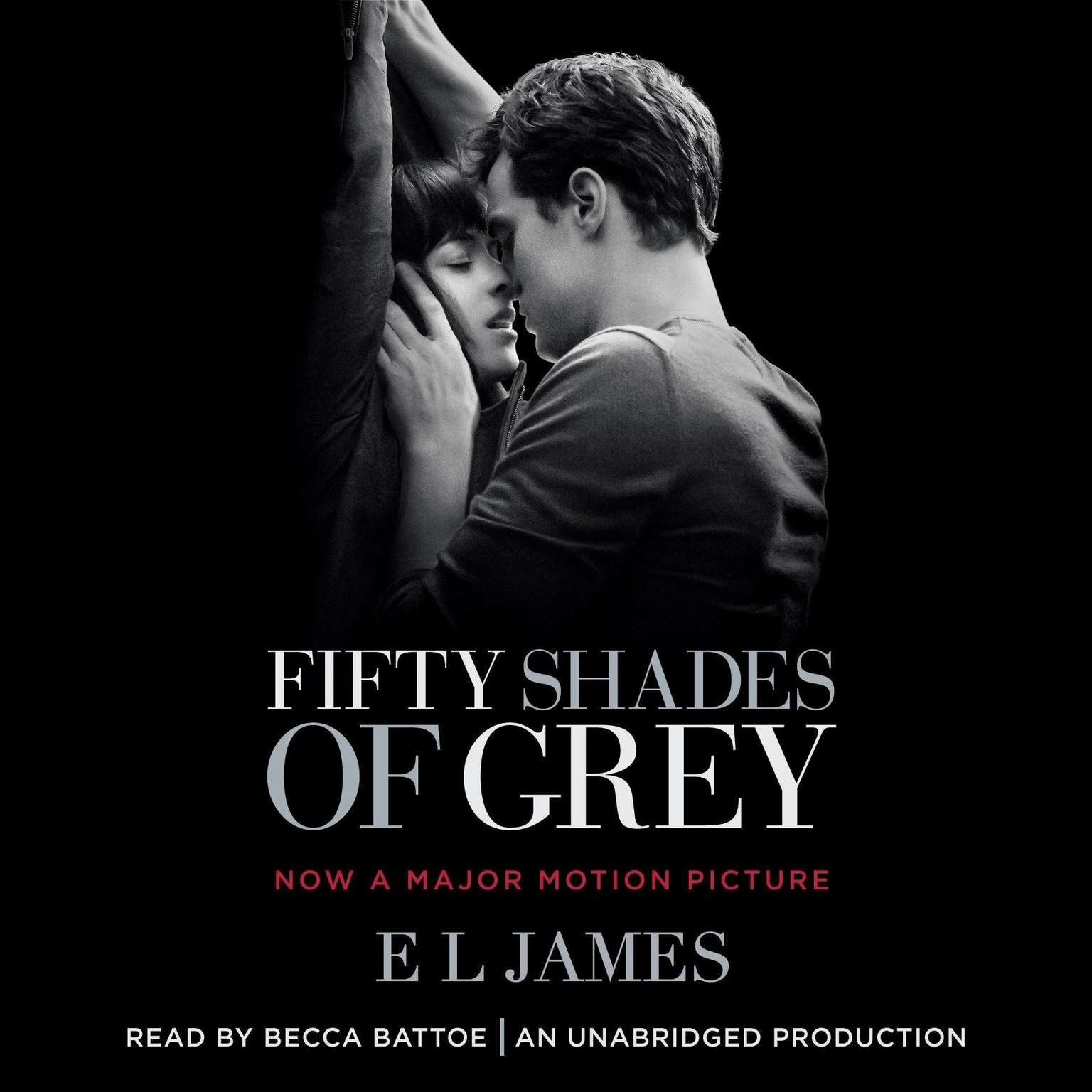 Printable Fifty Shades of Grey: Book One of the Fifty Shades Trilogy Audiobook Cover Art