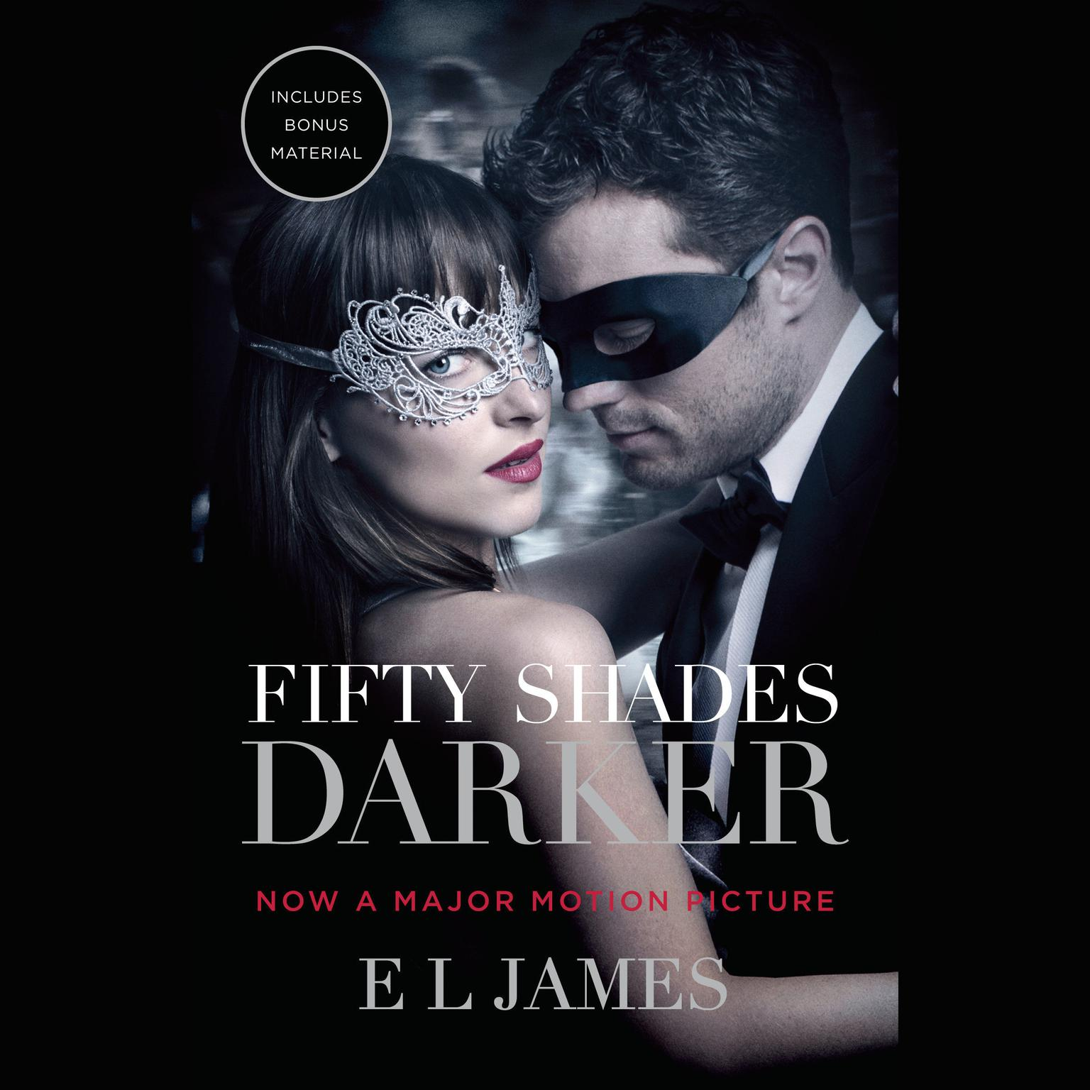Printable Fifty Shades Darker: Book Two of the Fifty Shades Trilogy Audiobook Cover Art