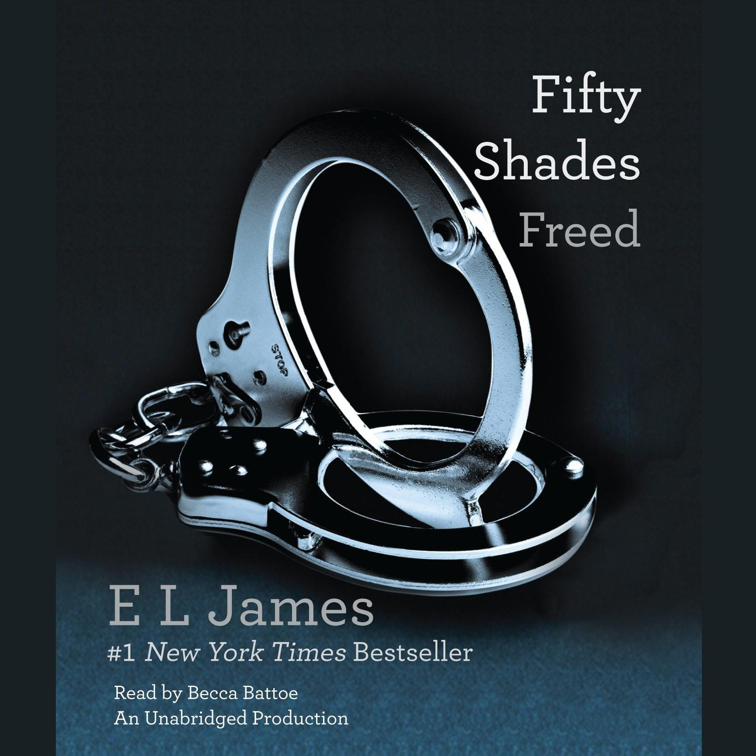 Printable Fifty Shades Freed: Book Three of the Fifty Shades Trilogy Audiobook Cover Art
