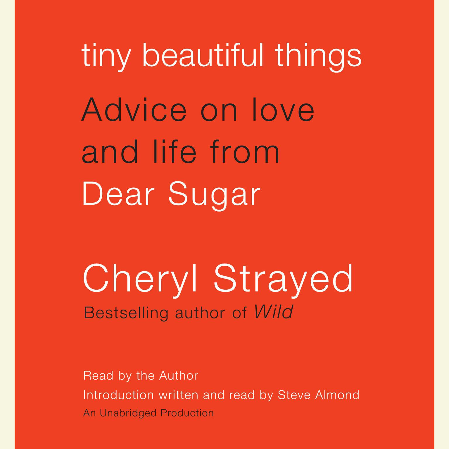 Printable Tiny Beautiful Things: Advice on Love and Life from Dear Sugar Audiobook Cover Art