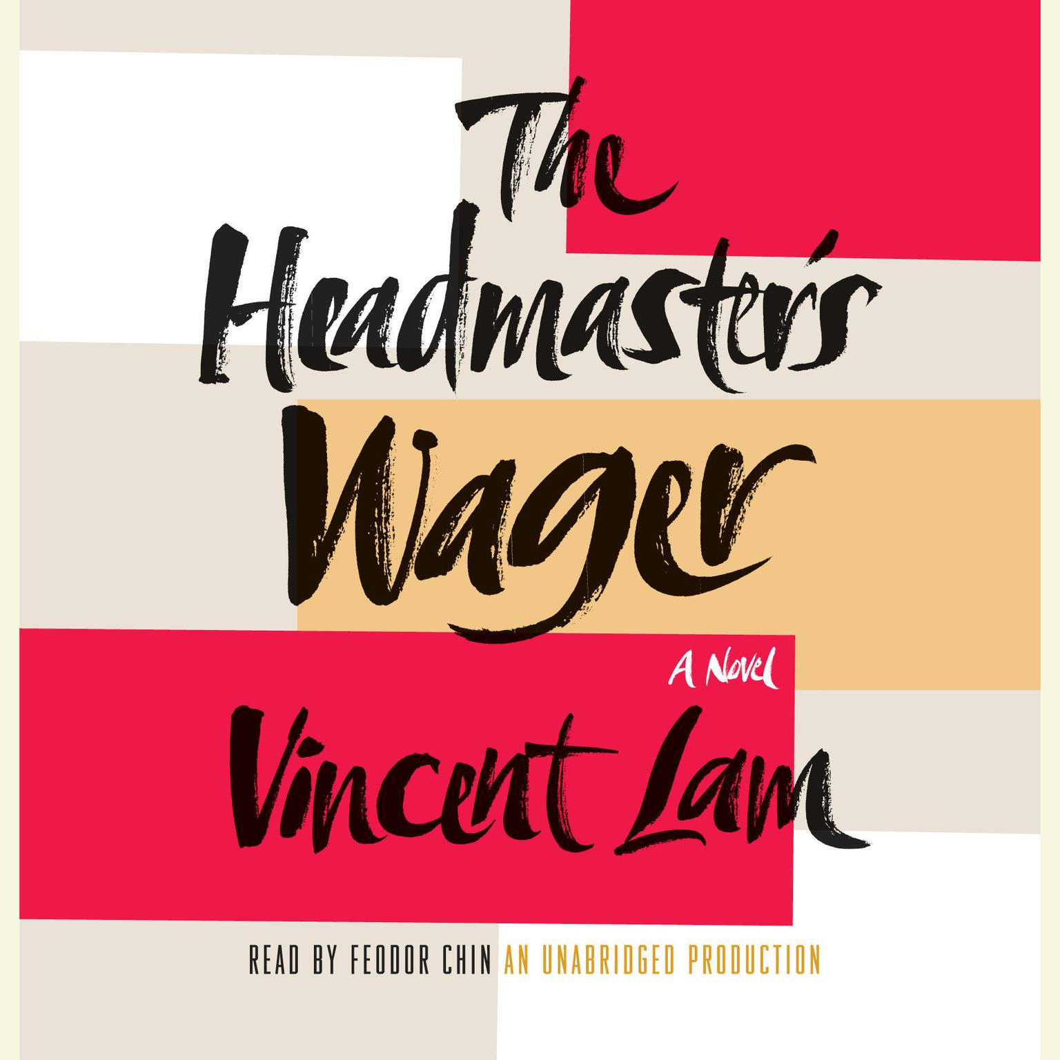 Printable The Headmaster's Wager Audiobook Cover Art