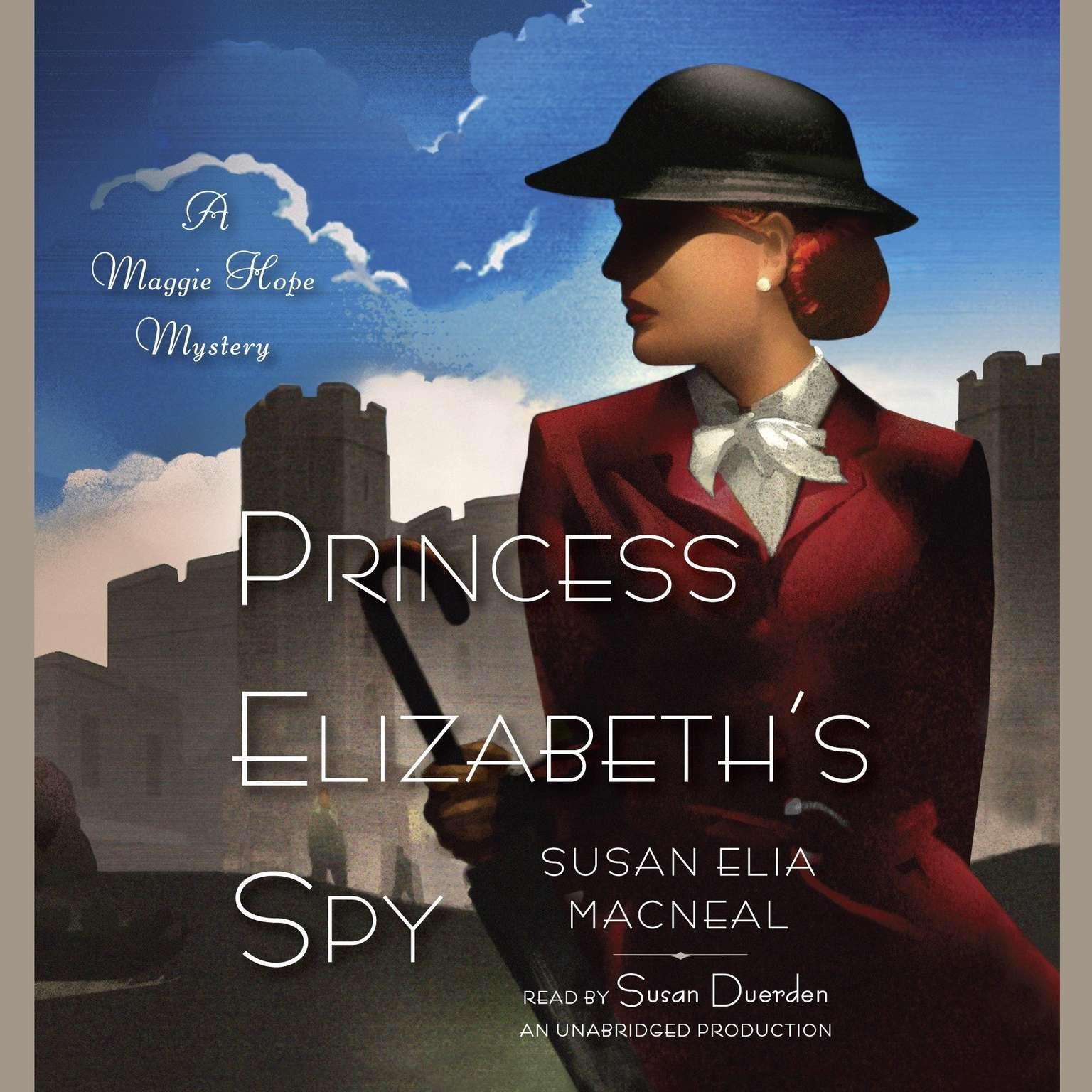 Printable Princess Elizabeth's Spy: A Maggie Hope Mystery Audiobook Cover Art