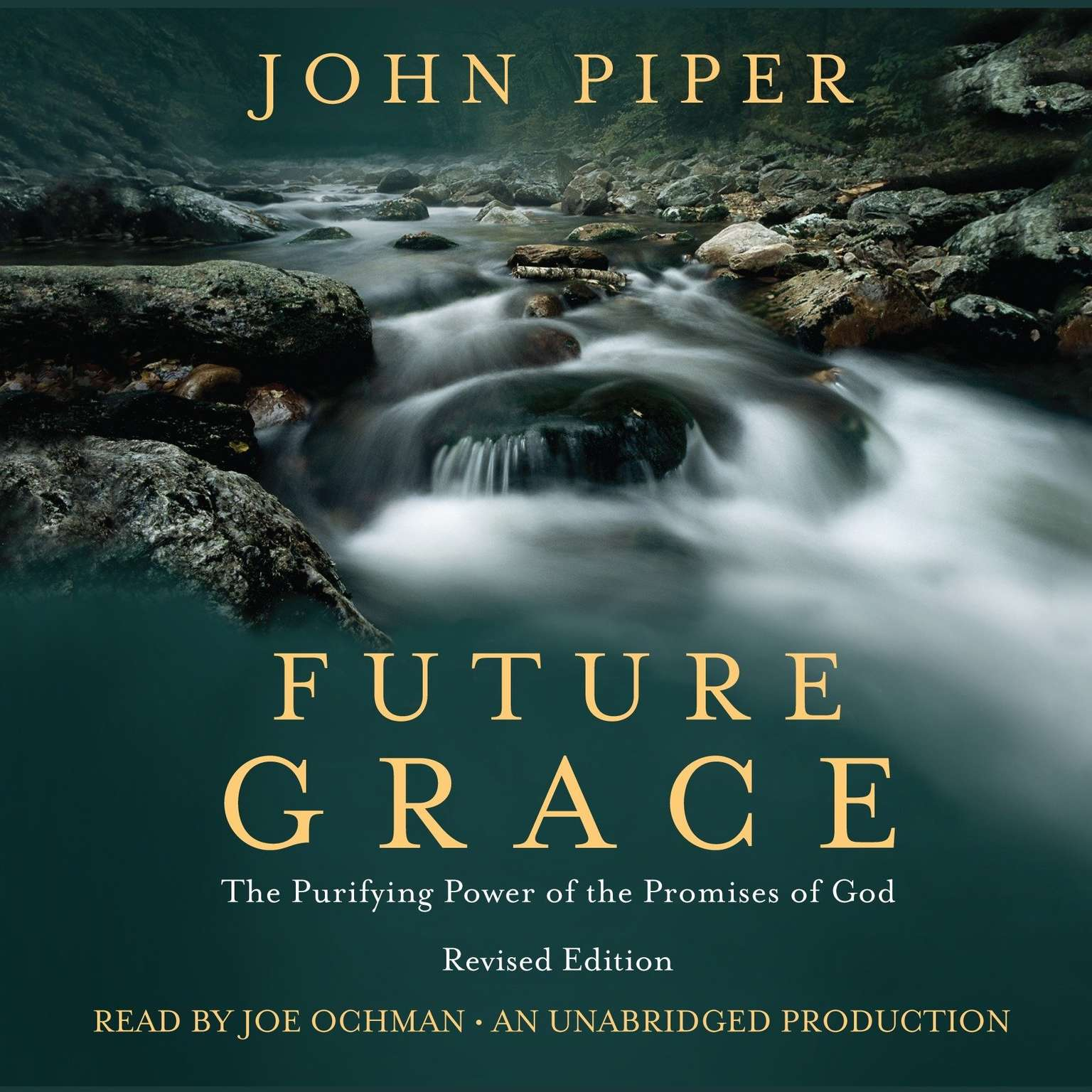 Printable Future Grace: The Purifying Power of the Promises of God Audiobook Cover Art