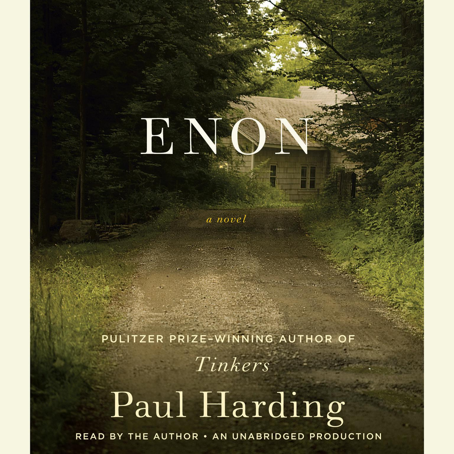Printable Enon Audiobook Cover Art