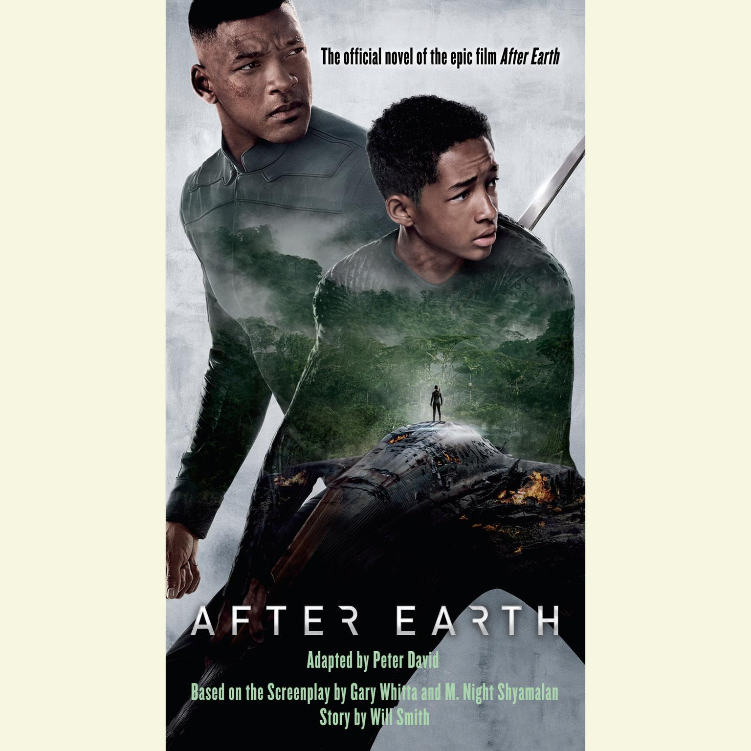 Printable After Earth Audiobook Cover Art