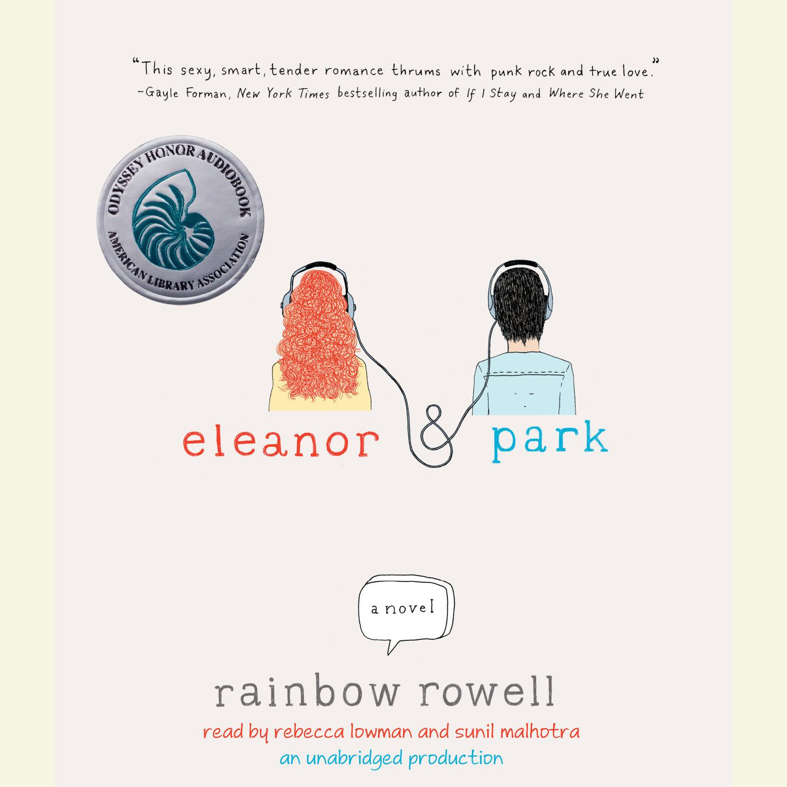 Printable Eleanor & Park Audiobook Cover Art