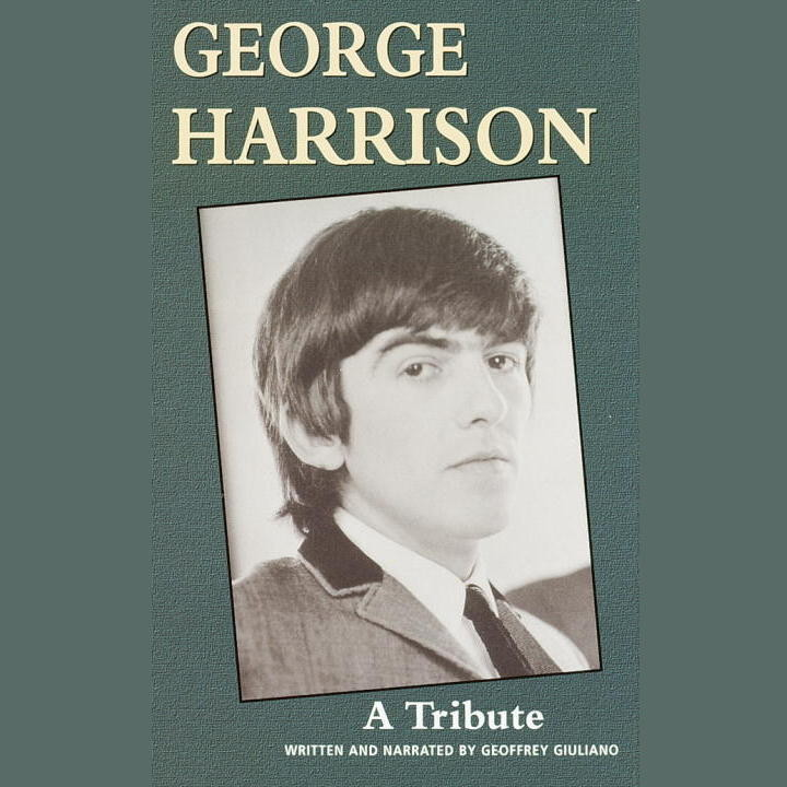 Printable George Harrision: A Tribute Audiobook Cover Art