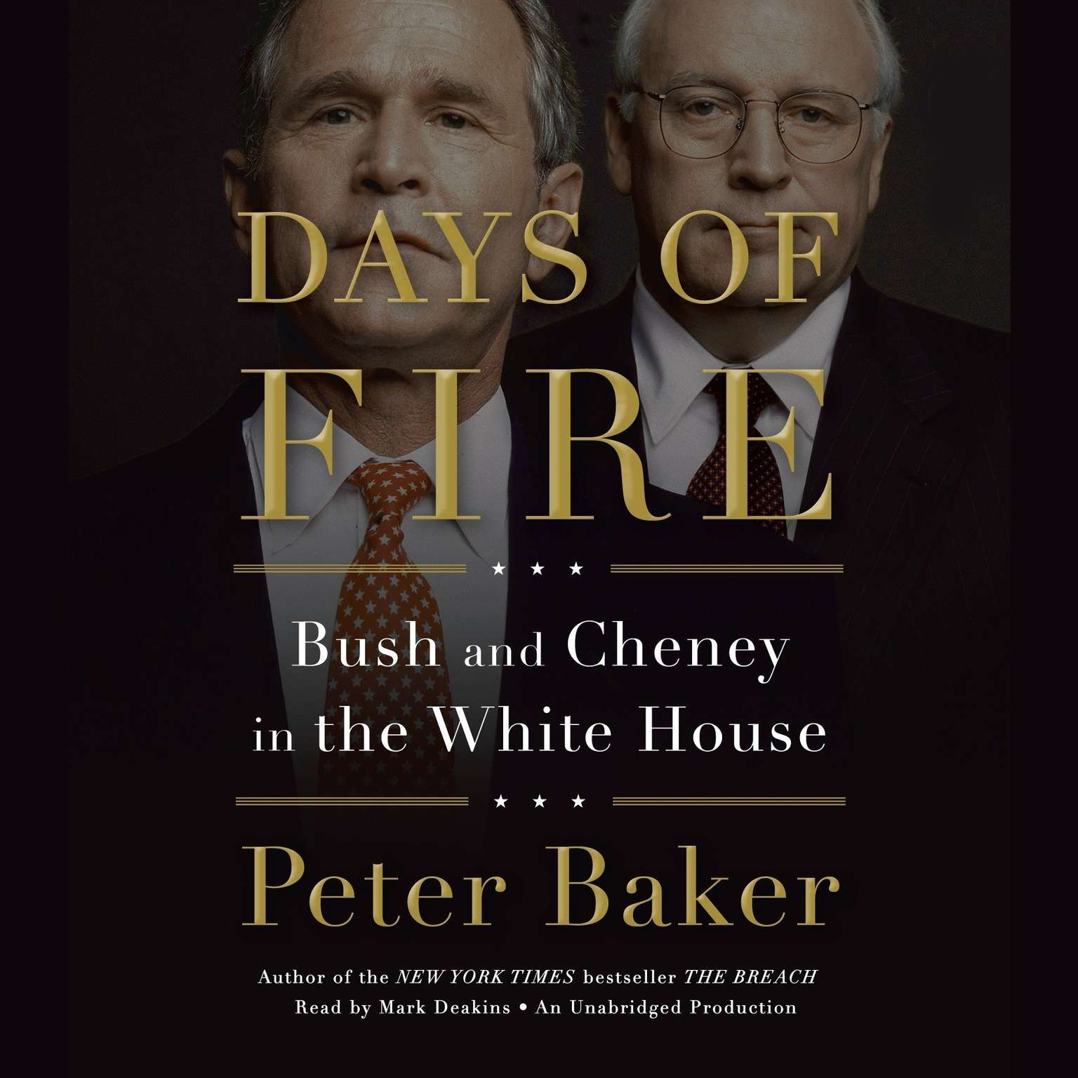 Printable Days of Fire: Bush and Cheney in the White House Audiobook Cover Art