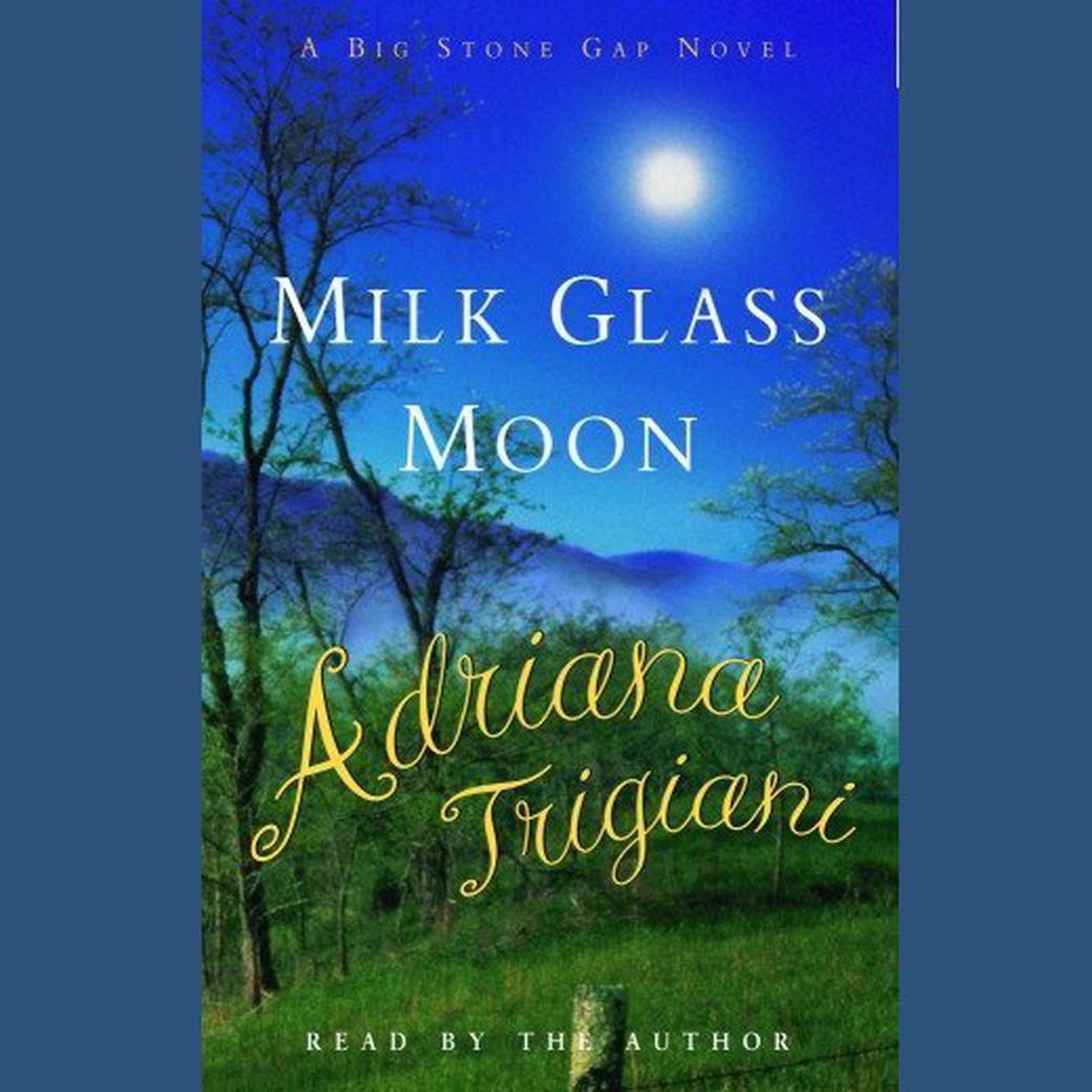 Printable Milk Glass Moon: A Novel Audiobook Cover Art