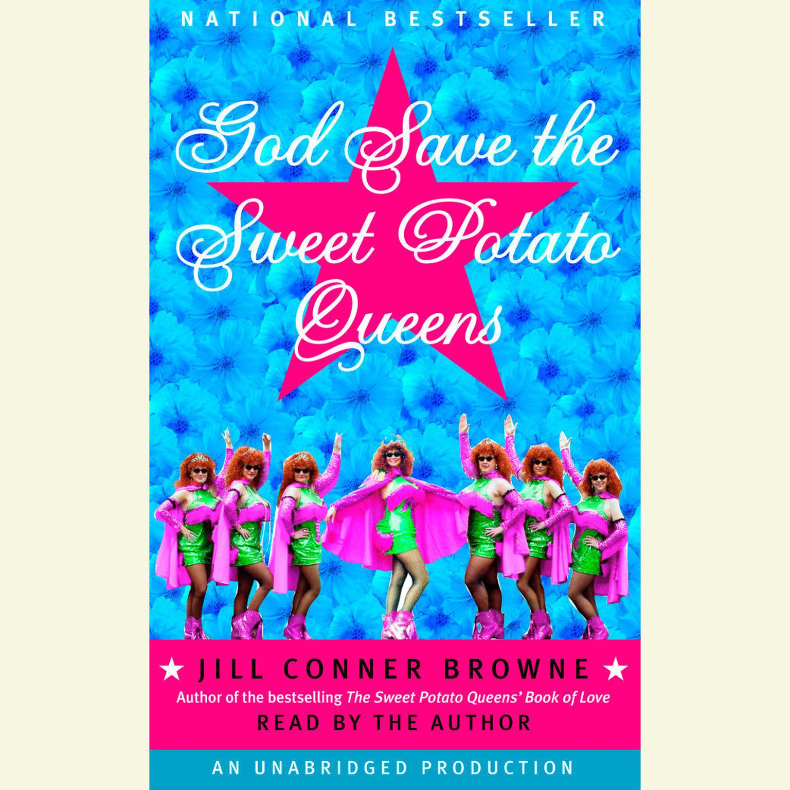Printable God Save the Sweet Potato Queens Audiobook Cover Art