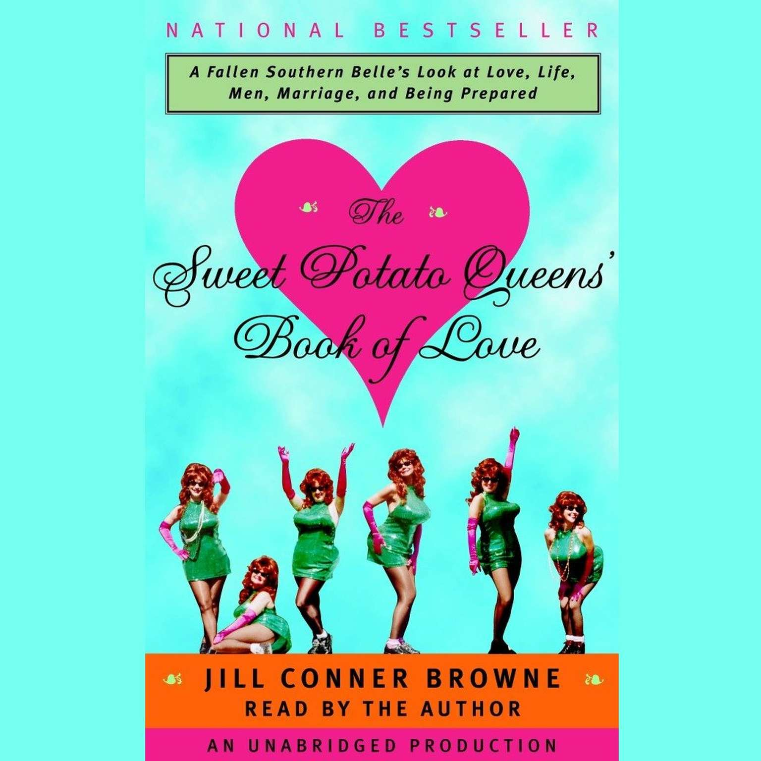 Printable The Sweet Potato Queens' Book of Love Audiobook Cover Art