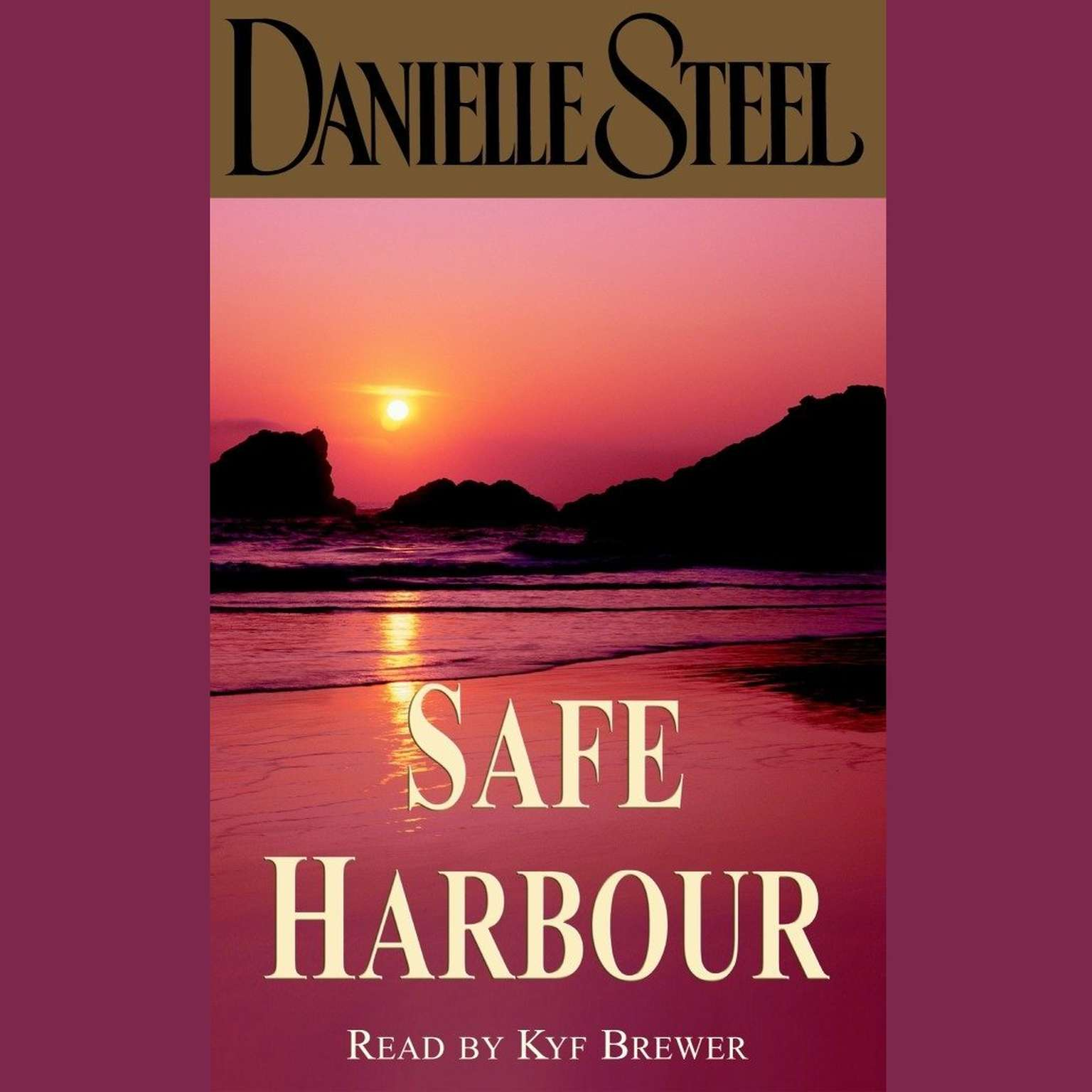 Printable Safe Harbour Audiobook Cover Art