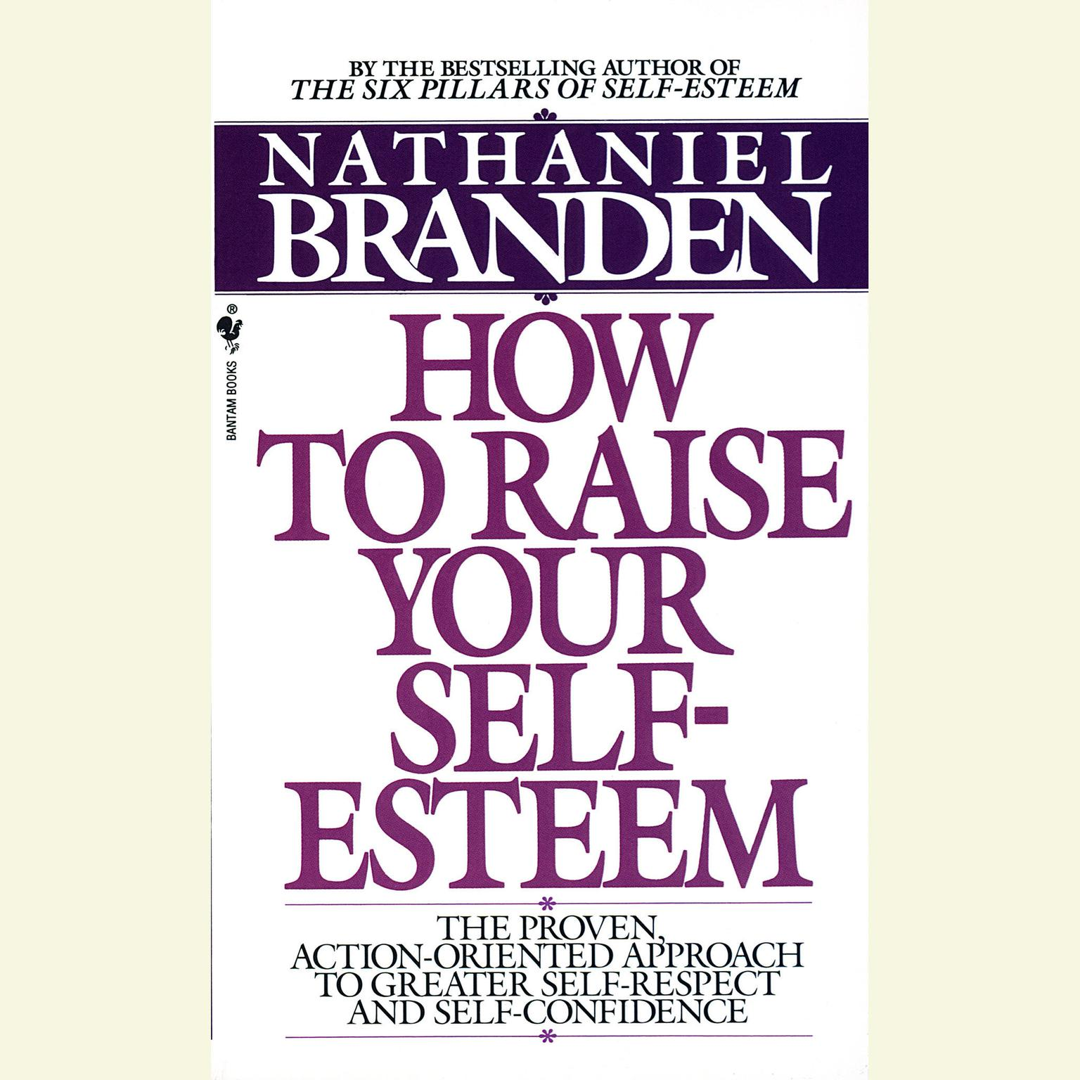 Printable Raise Your Self-Esteem Audiobook Cover Art