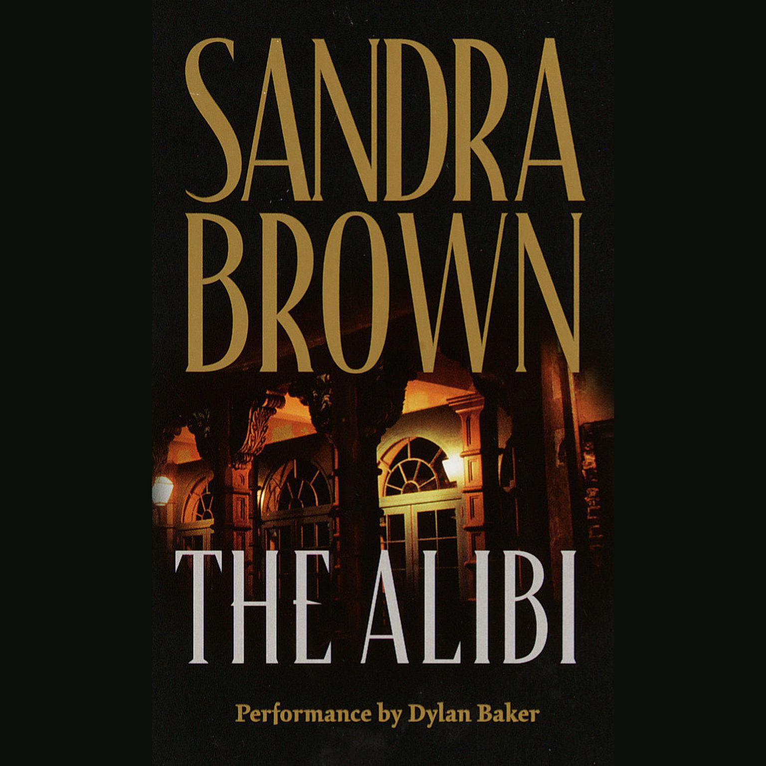 Printable The Alibi Audiobook Cover Art