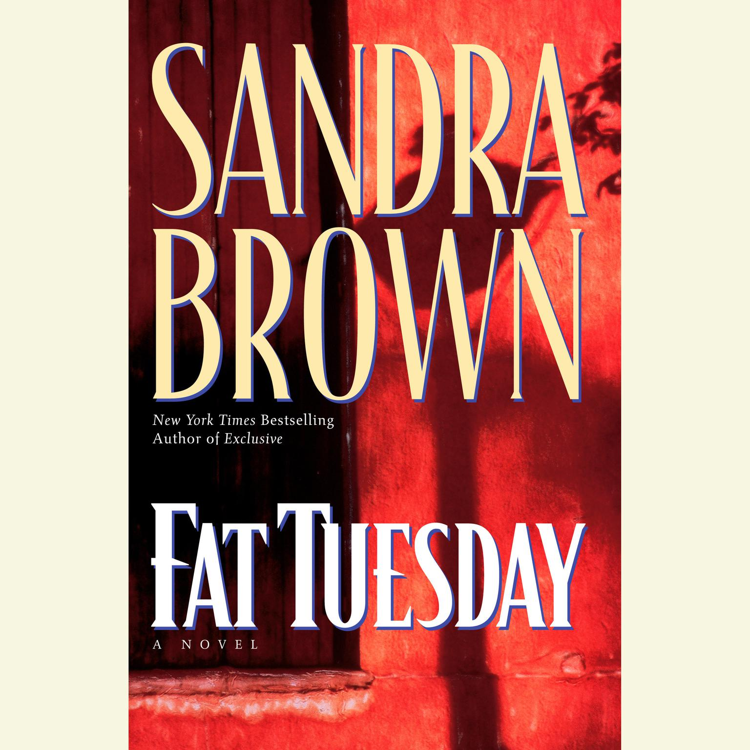 Printable Fat Tuesday Audiobook Cover Art
