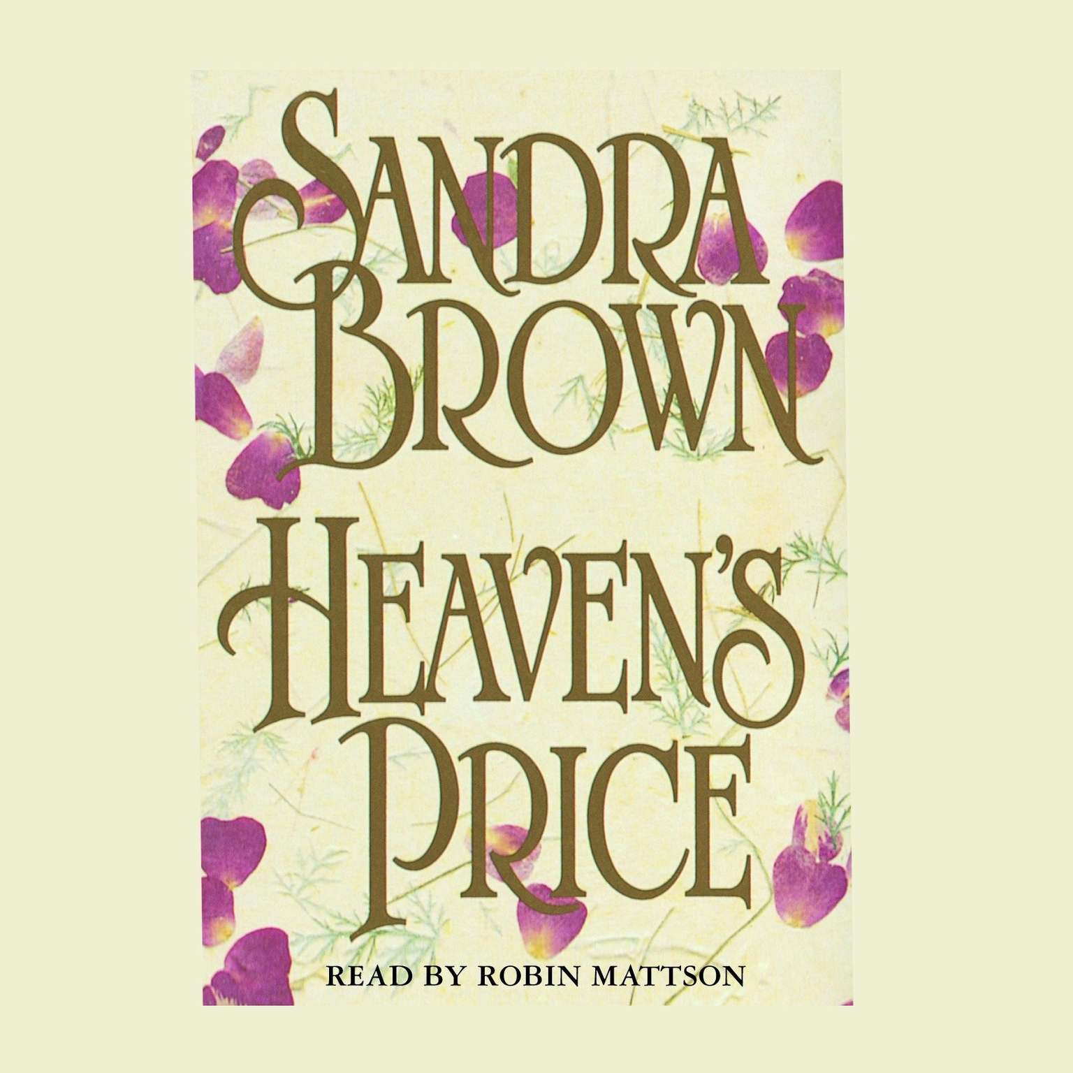Printable Heaven's Price: A Novel Audiobook Cover Art