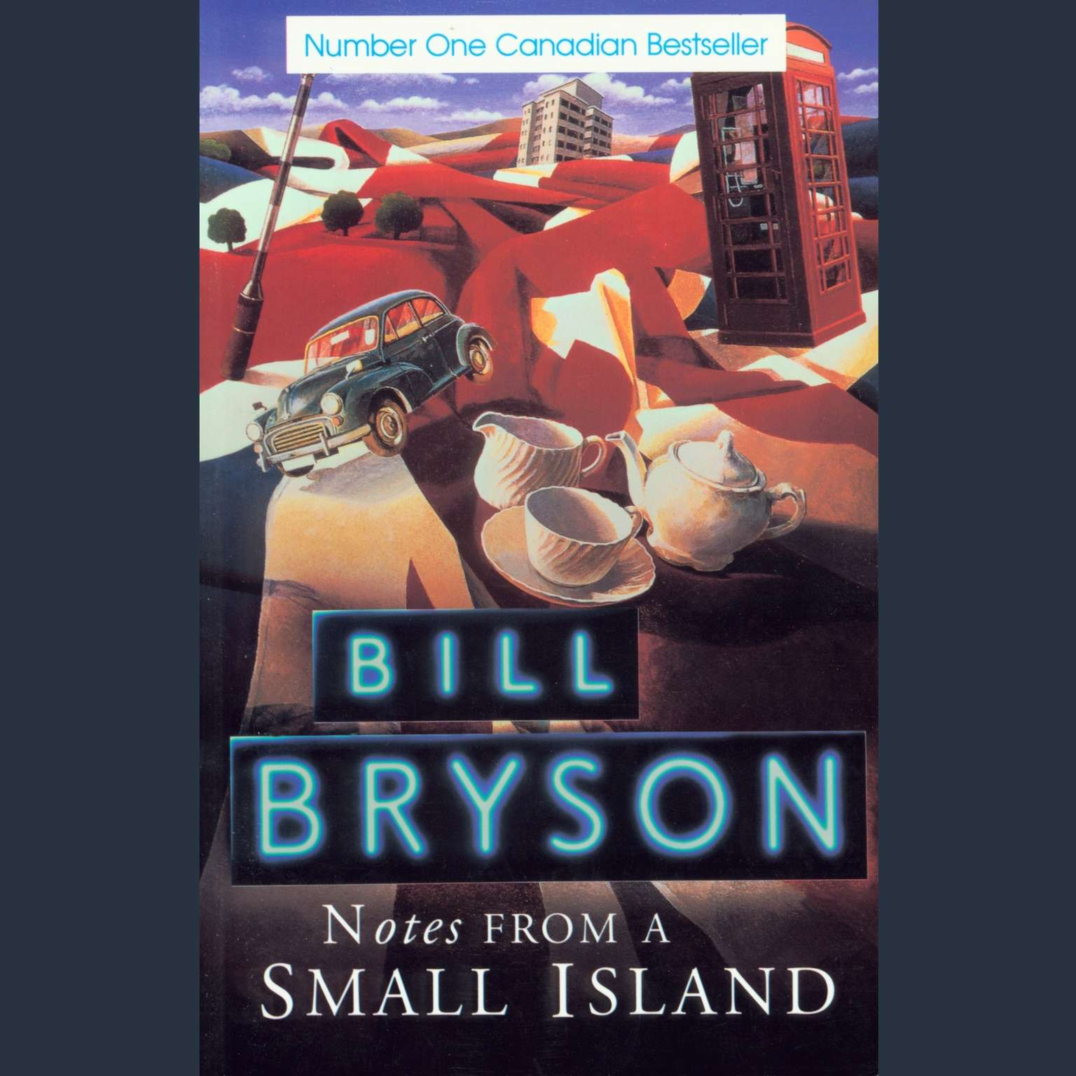 Printable Notes From a Small Island Audiobook Cover Art