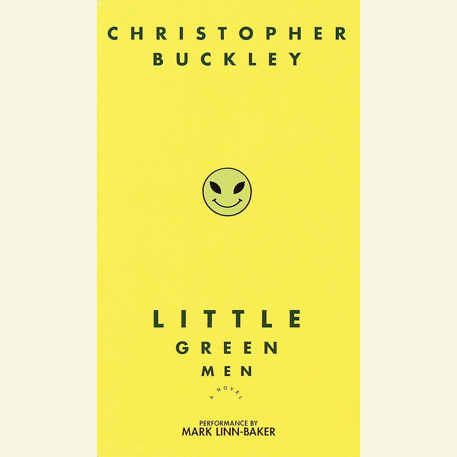 Printable Little Green Men: A Novel Audiobook Cover Art