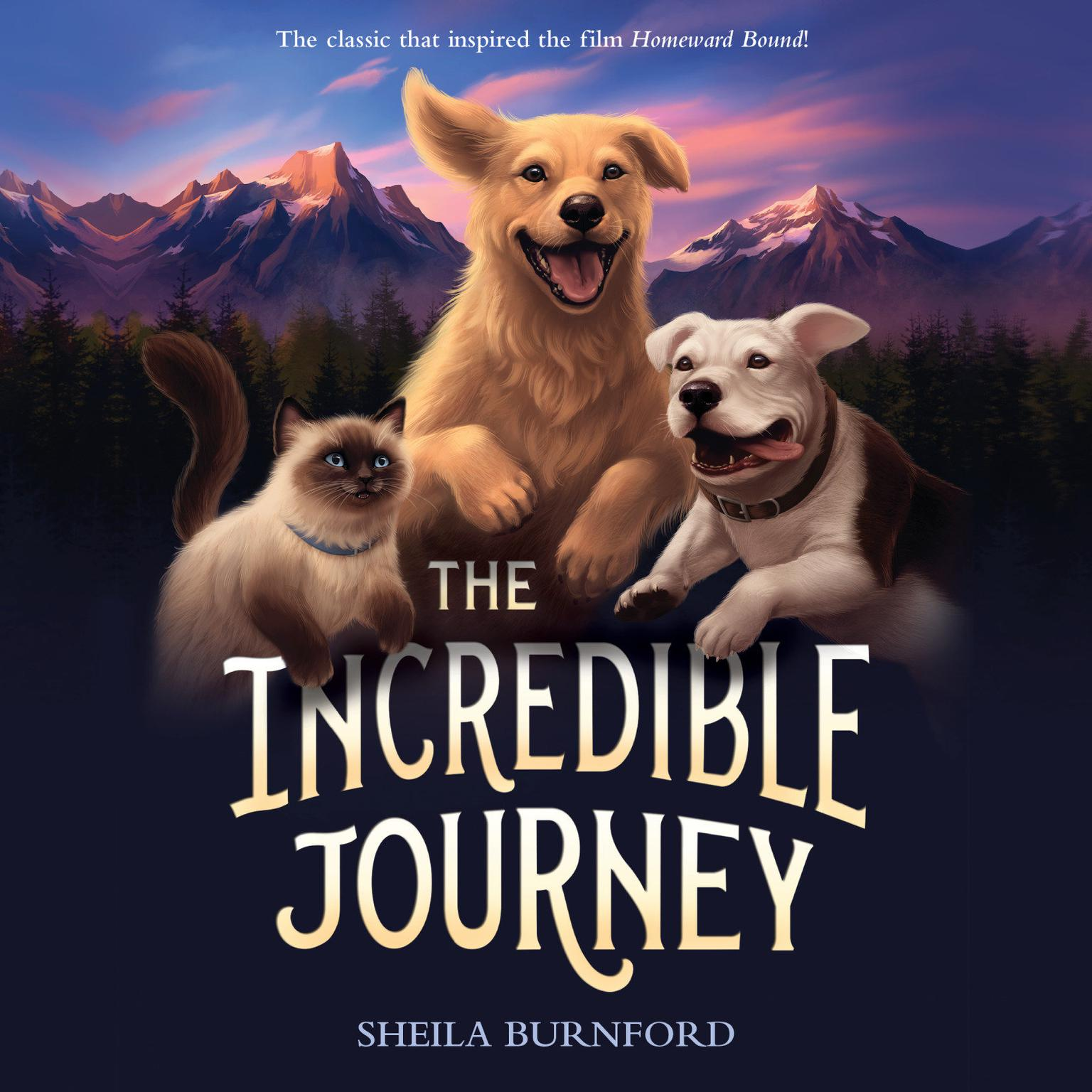 Printable The Incredible Journey Audiobook Cover Art
