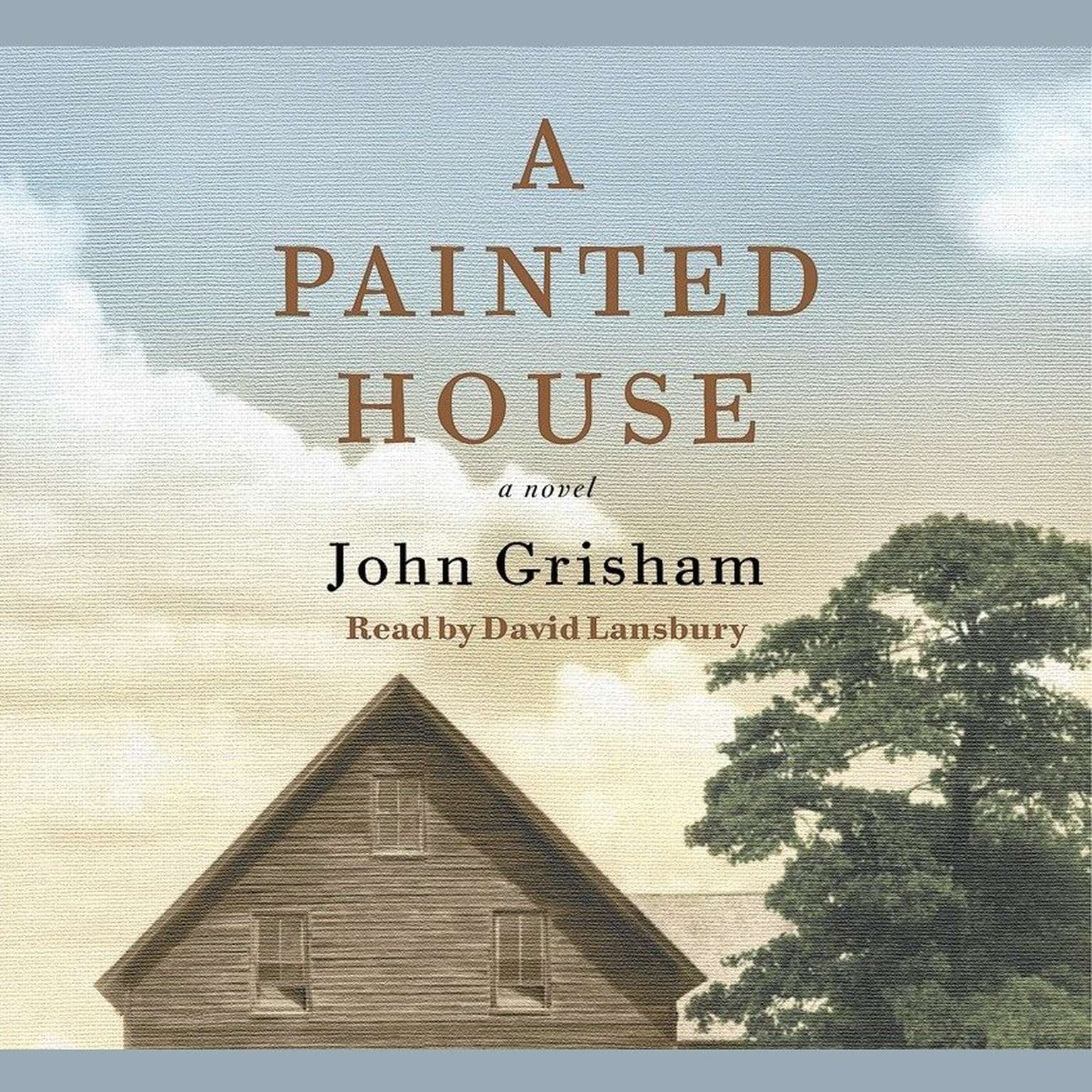Printable A Painted House Audiobook Cover Art