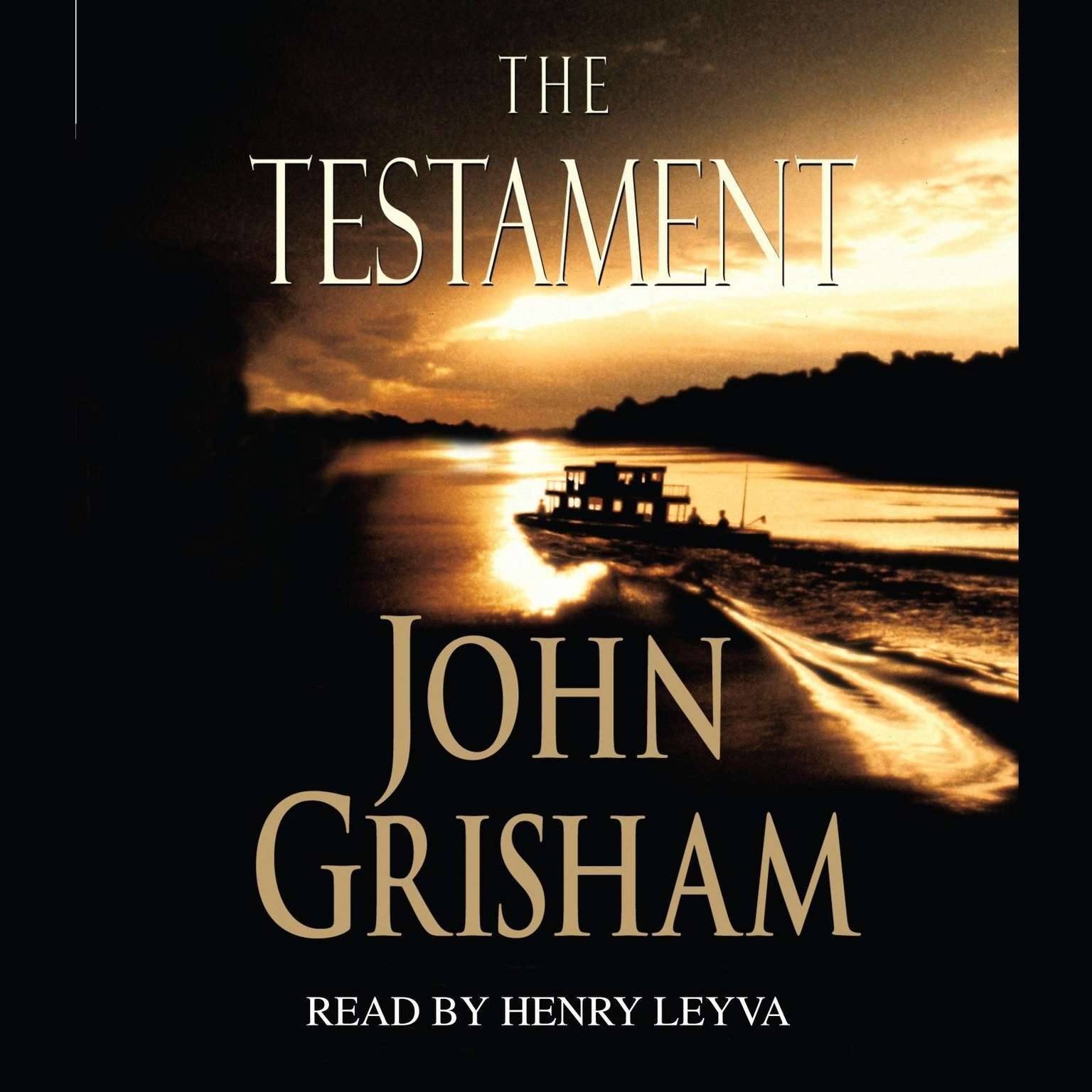 Printable The Testament Audiobook Cover Art