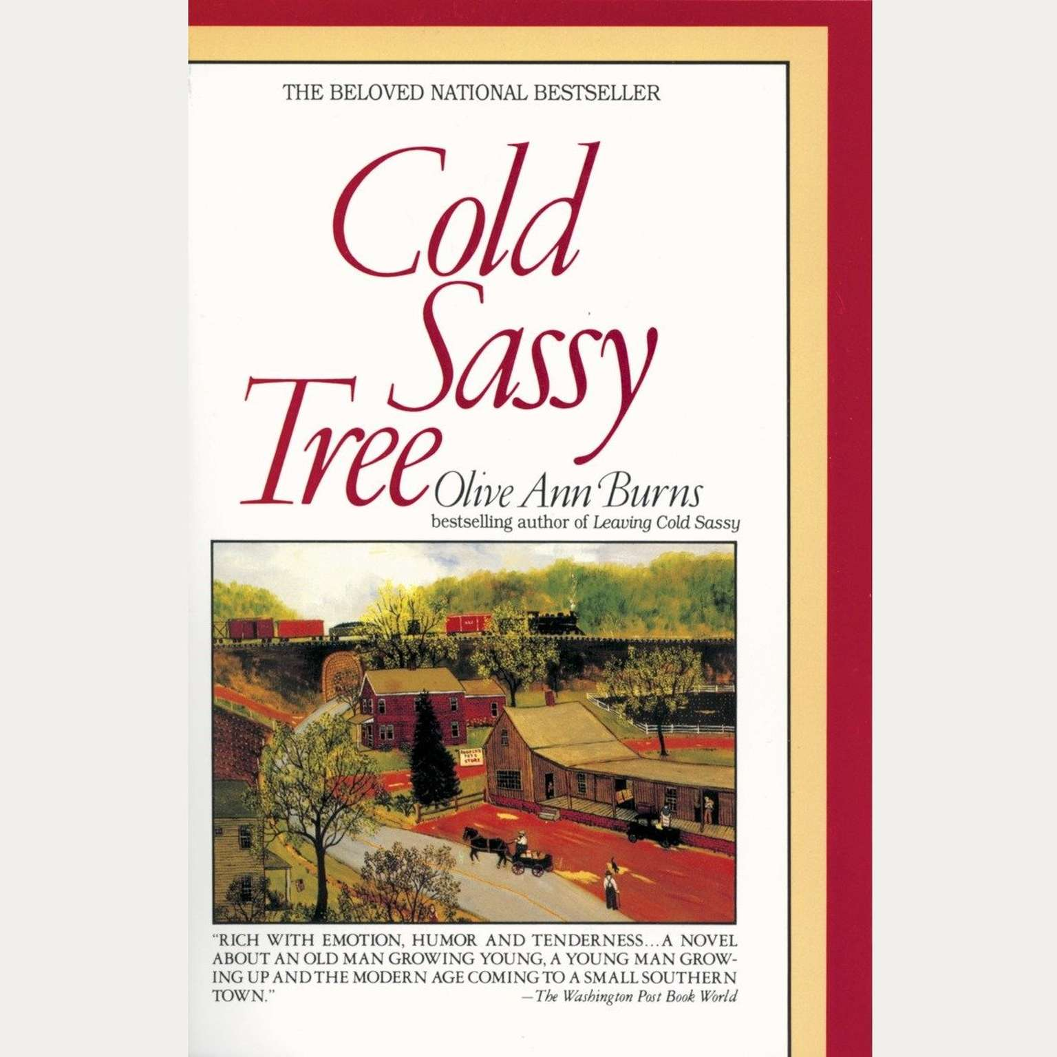 Printable Cold Sassy Tree Audiobook Cover Art