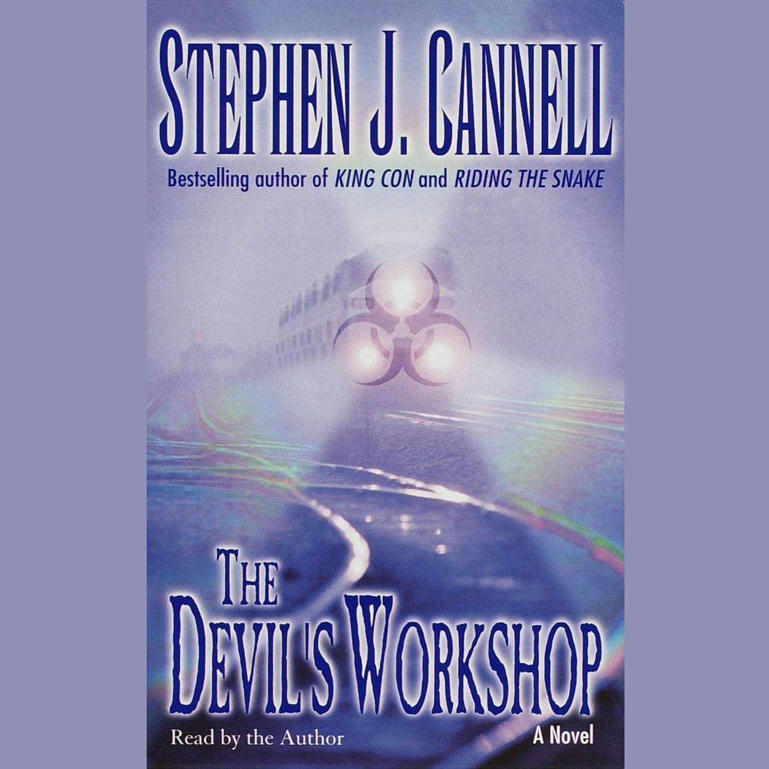 Printable The Devil's Workshop Audiobook Cover Art