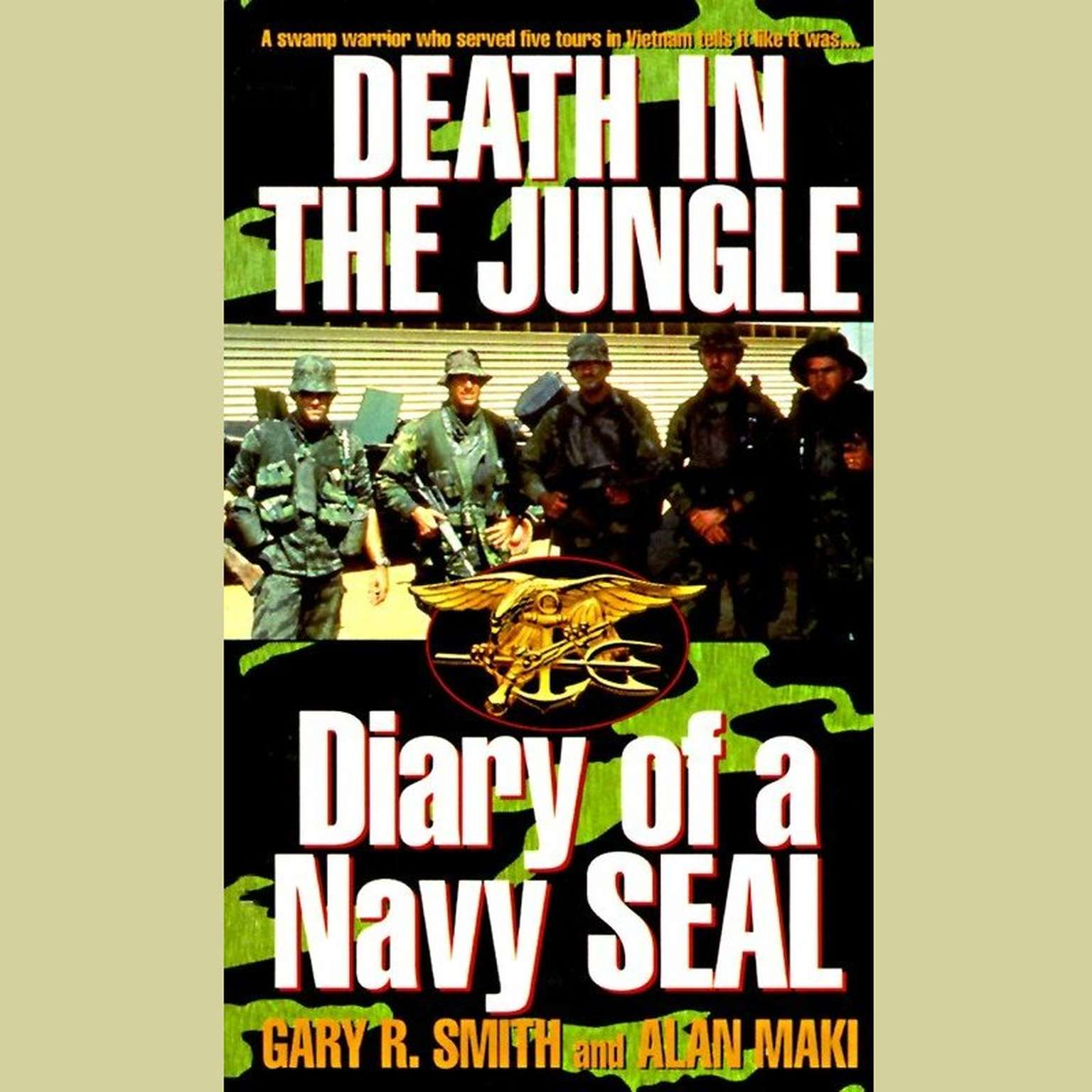 Printable Death in the Jungle: Diary of a Navy Seal Audiobook Cover Art