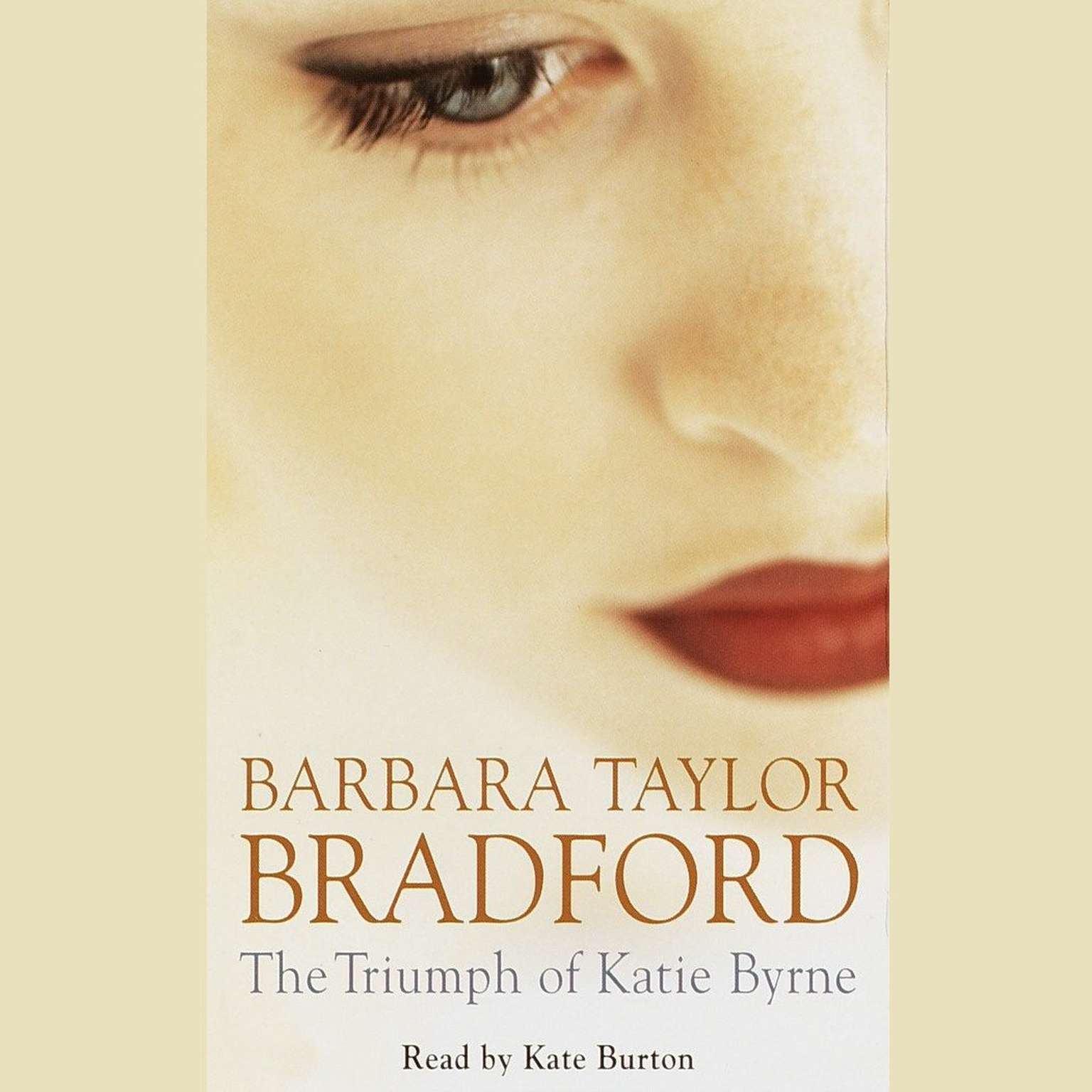 Printable The Triumph of Katie Byrne Audiobook Cover Art