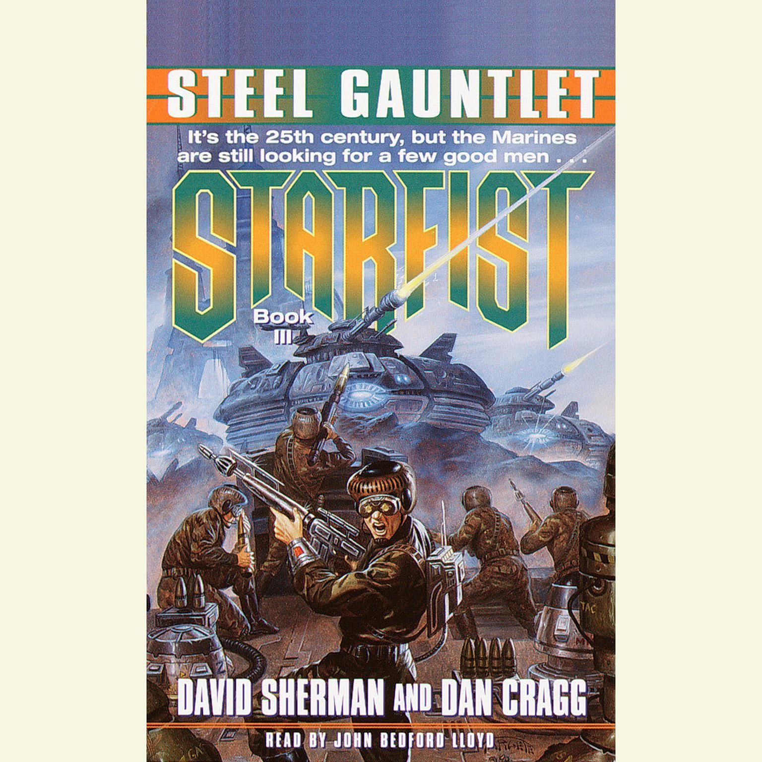 Printable Steel Gauntlet: Starfist, Book III Audiobook Cover Art