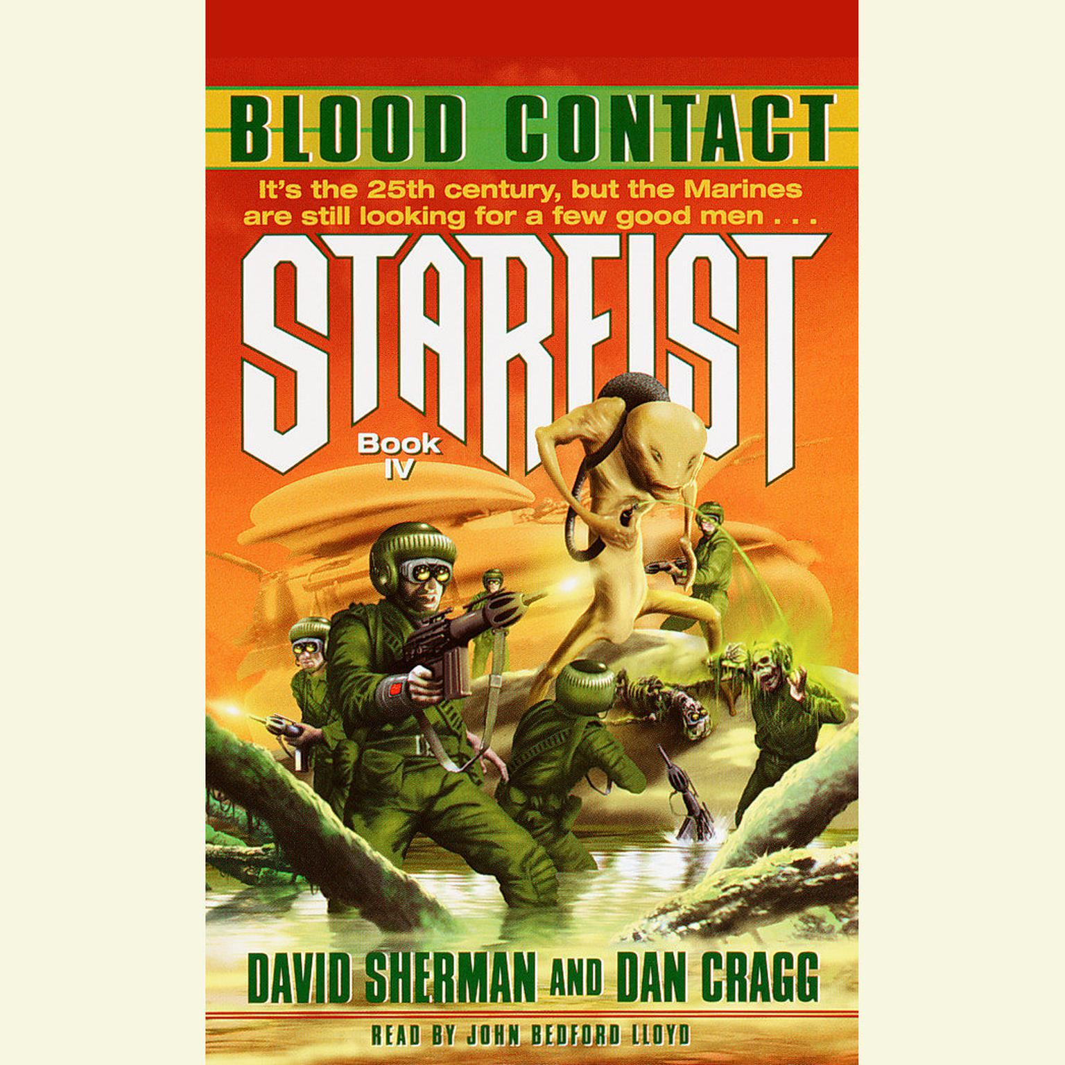 Printable StarFist: Blood Contact Audiobook Cover Art