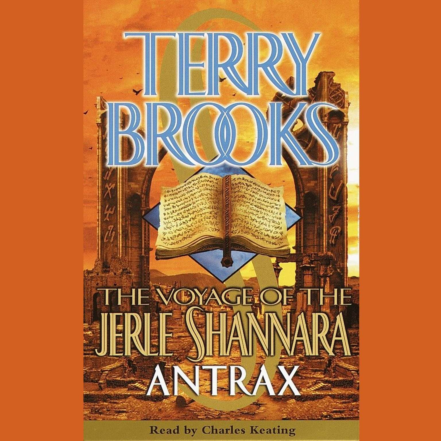 Printable The Voyage of the Jerle Shannara: Antrax Audiobook Cover Art
