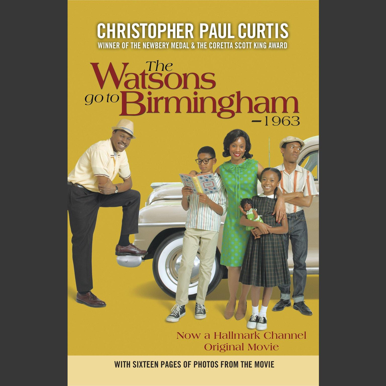 Printable The Watsons Go to Birmingham - 1963 Audiobook Cover Art
