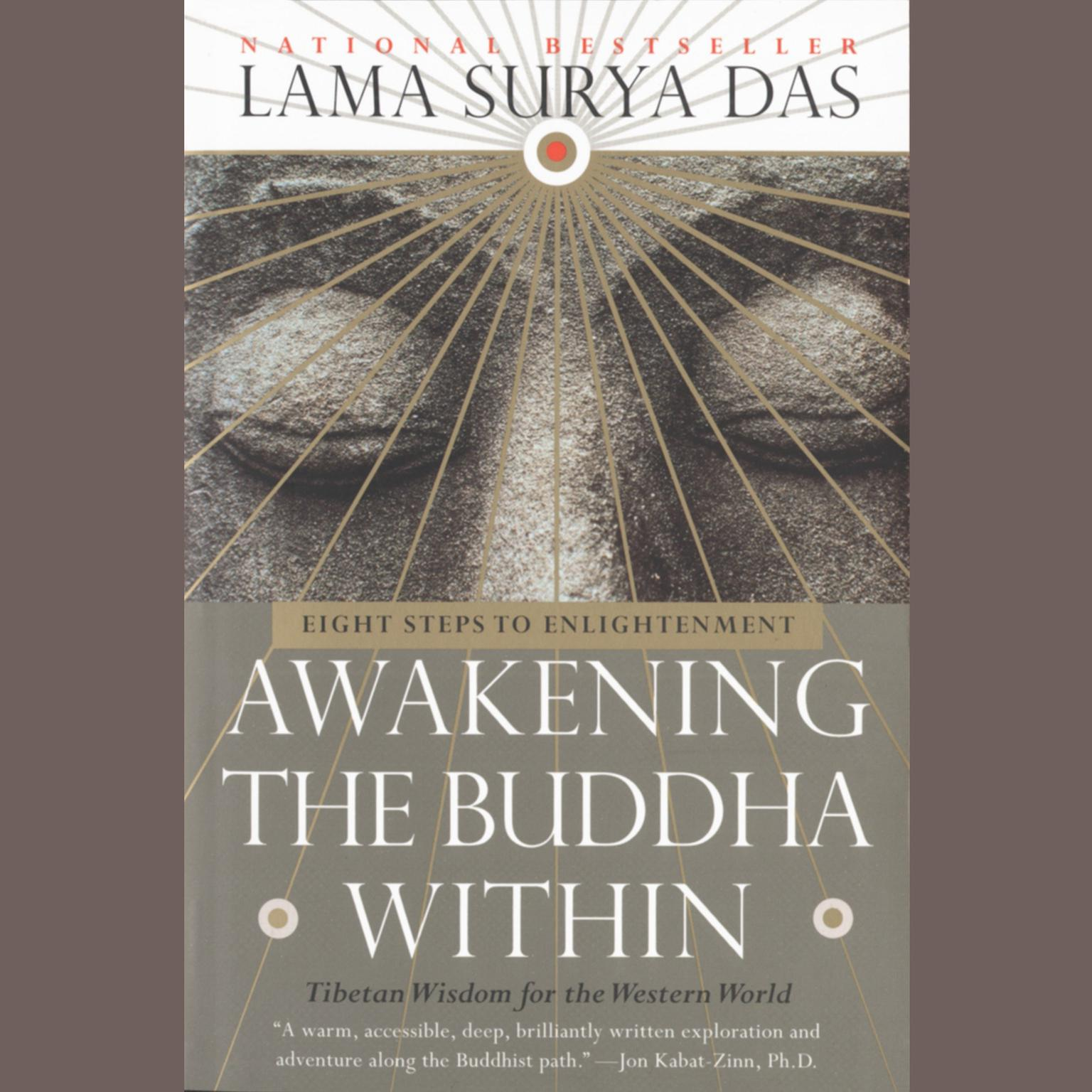 Printable Awakening the Buddha Within: Eight Steps to Enlightenment Audiobook Cover Art