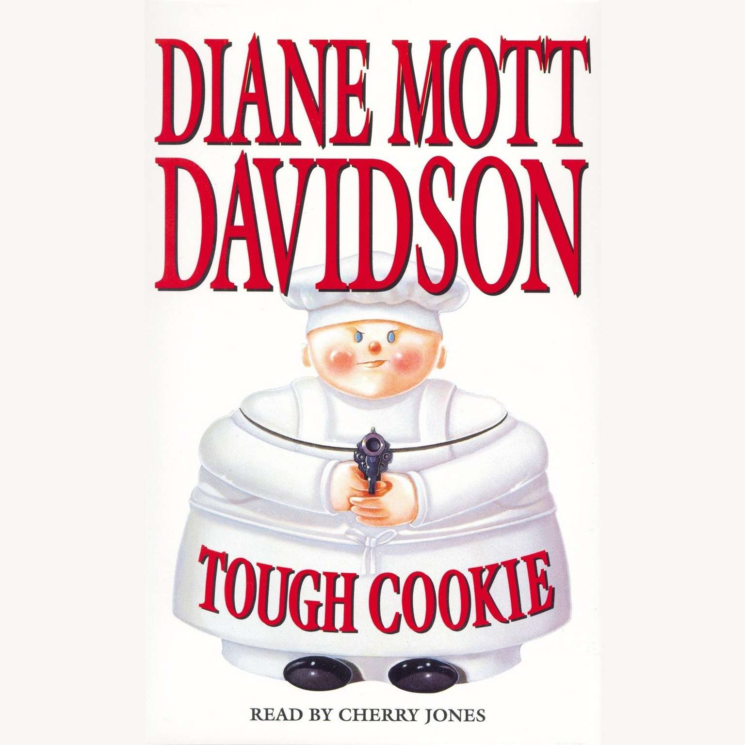 Printable Tough Cookie Audiobook Cover Art