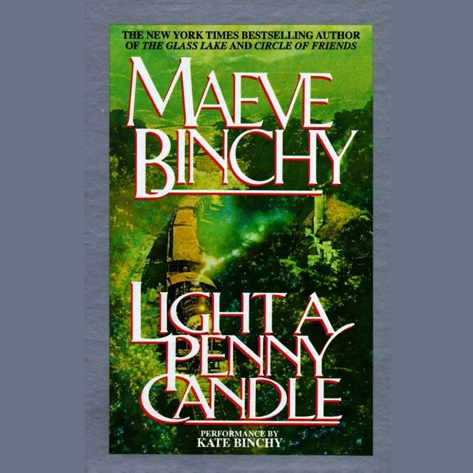 Printable Light a Penny Candle Audiobook Cover Art