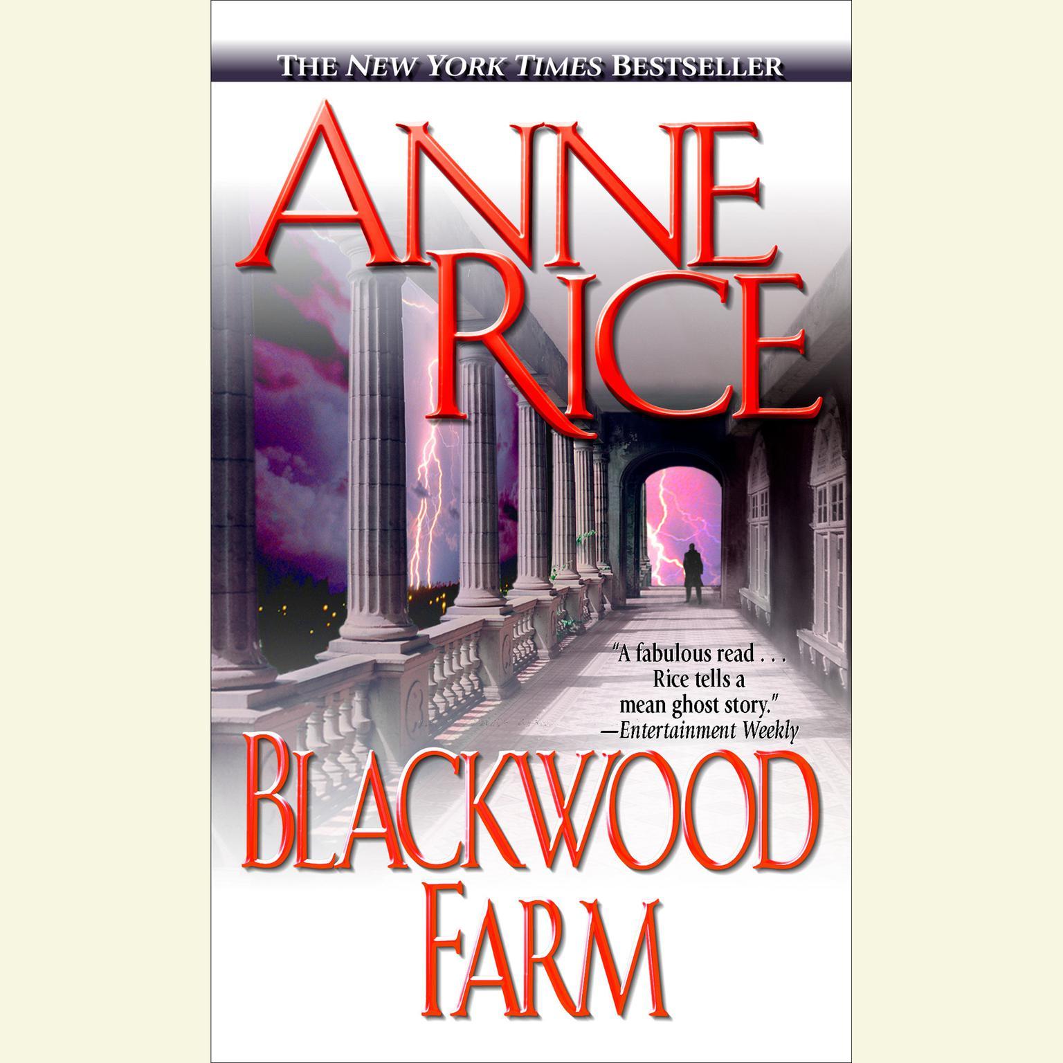 Printable Blackwood Farm: The Vampire Chronicles Audiobook Cover Art