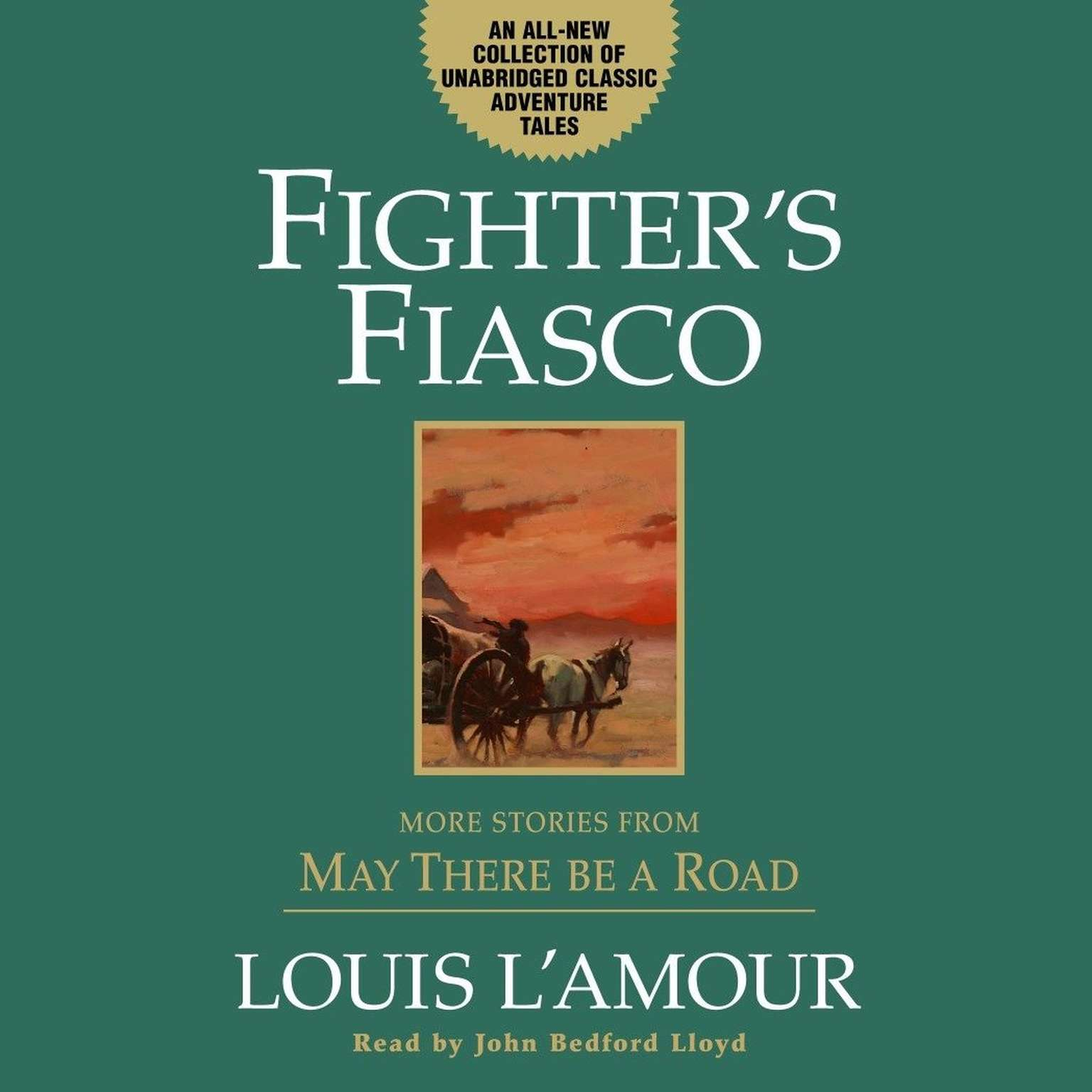 Printable Fighter's Fiasco: More Stories from May There Be a Road Audiobook Cover Art
