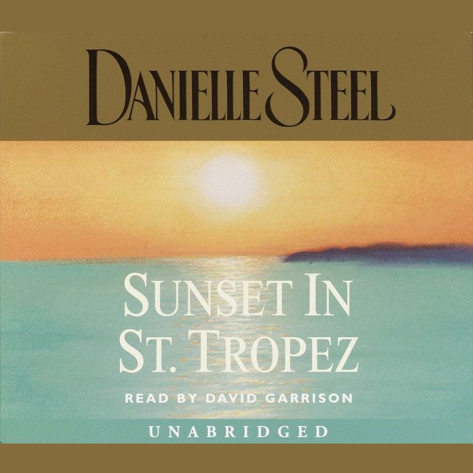 Printable Sunset in St. Tropez Audiobook Cover Art