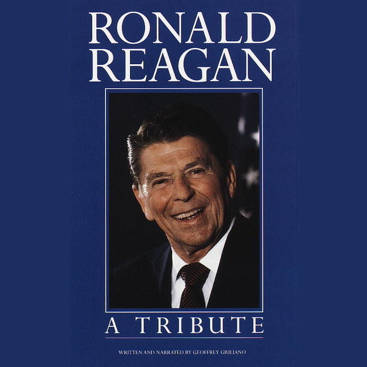 Printable Ronald Reagan: A Tribute Audiobook Cover Art