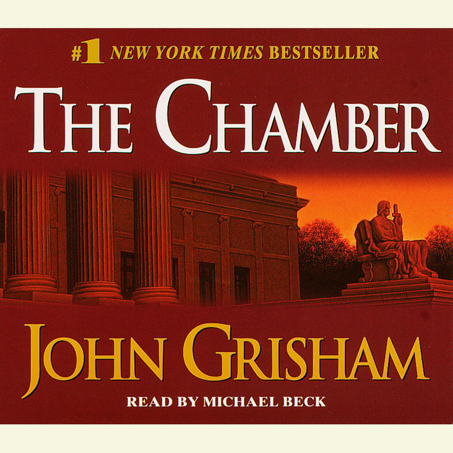 Printable The Chamber Audiobook Cover Art
