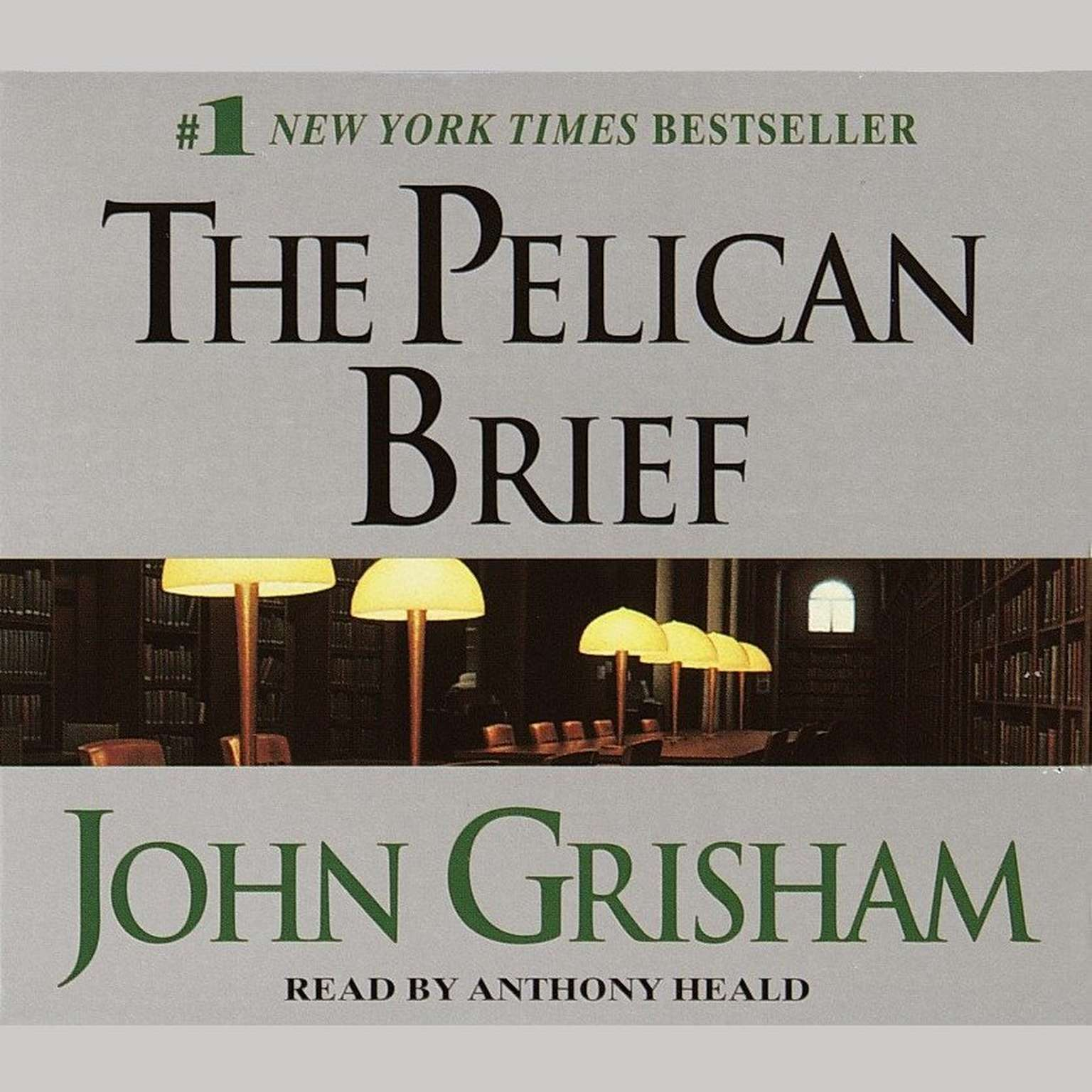 Printable The Pelican Brief Audiobook Cover Art