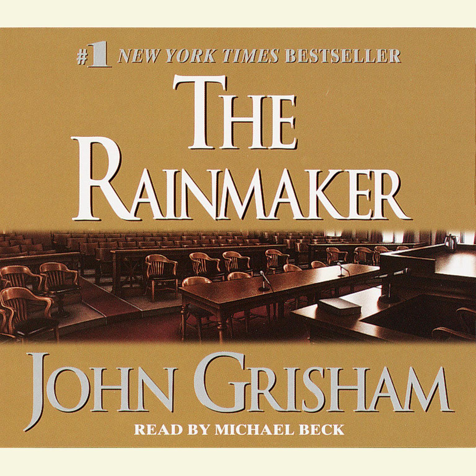 Printable The Rainmaker: A Novel Audiobook Cover Art