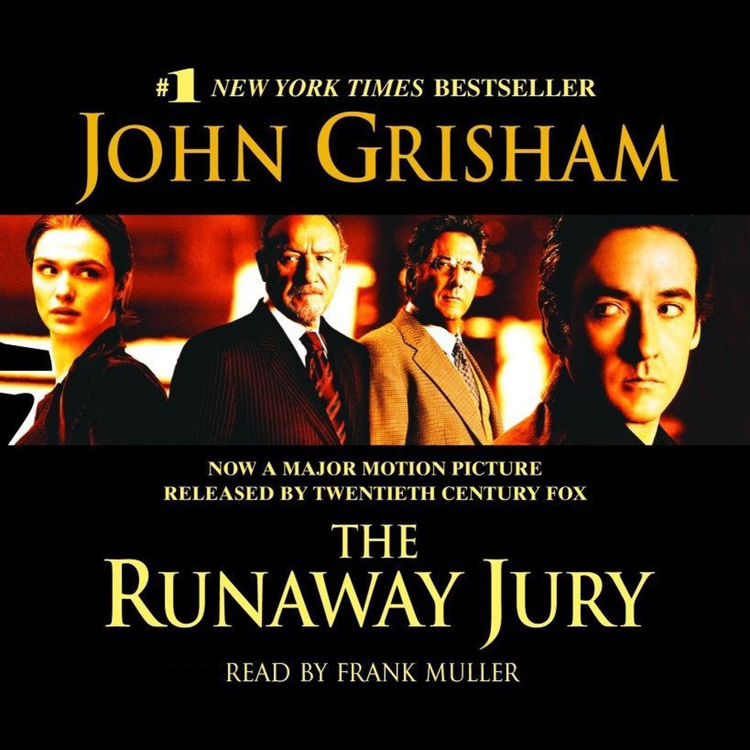 Printable The Runaway Jury: A Novel Audiobook Cover Art