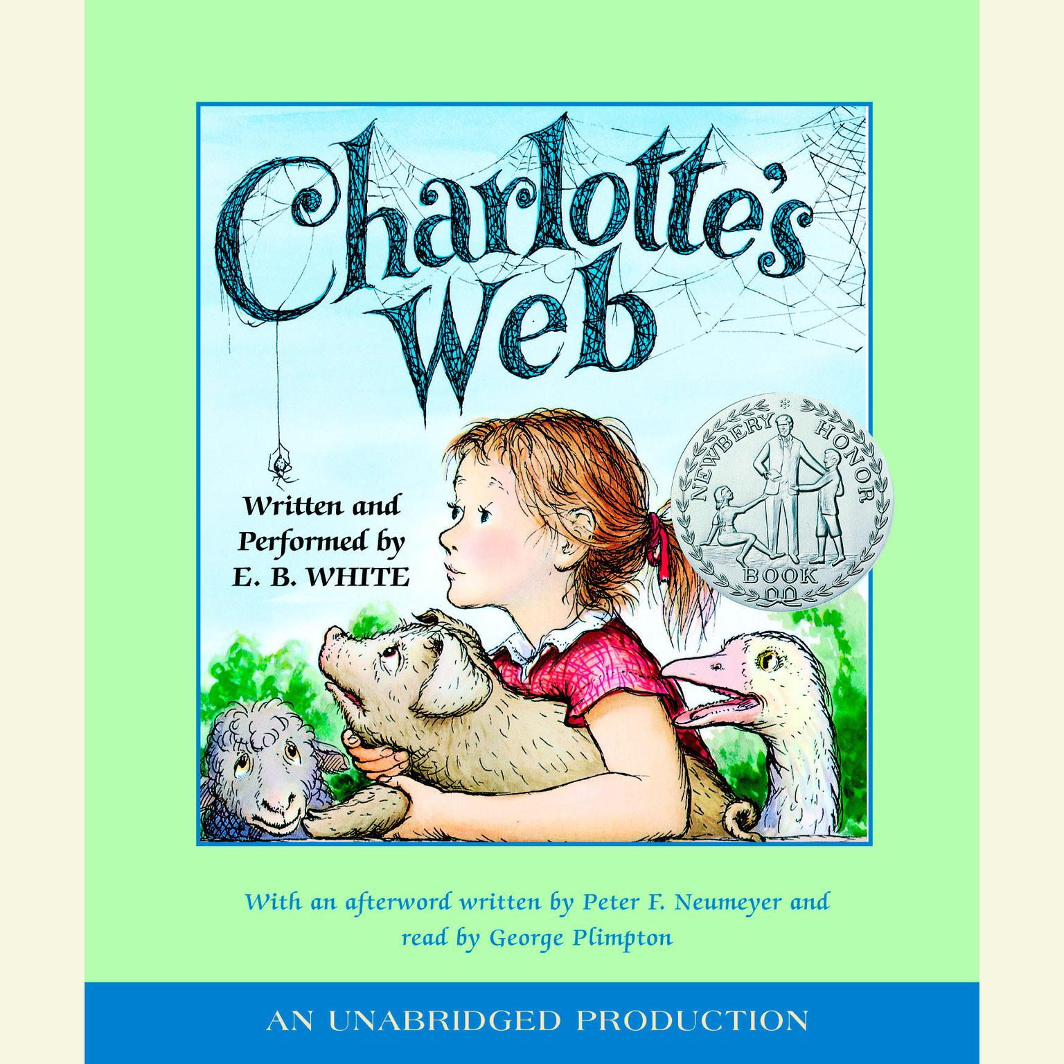 Printable Charlotte's Web Audiobook Cover Art